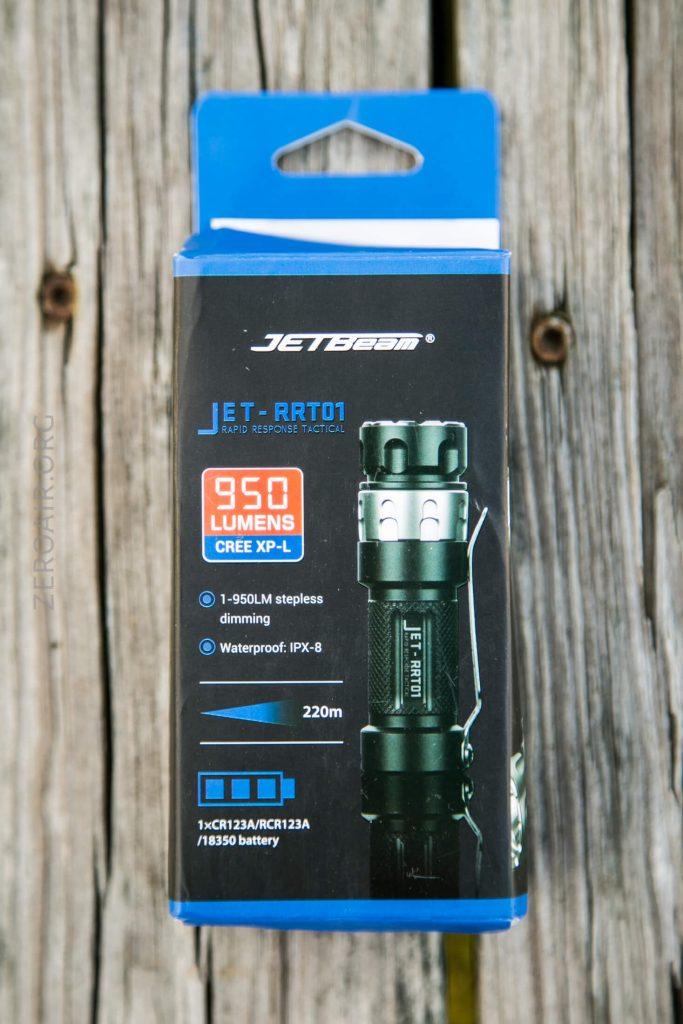 JETBeam JET RRT01 Flashlight Review – ZeroAir Reviews