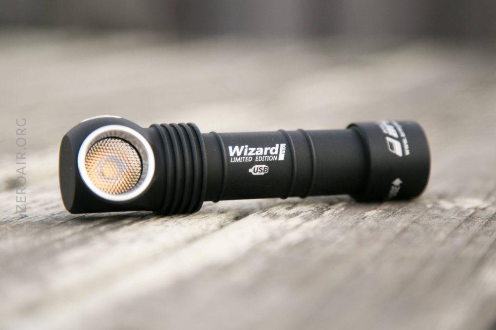 2300 Lumens by Armytek Armytek Wizard Pro v3 XHP50 White Silver Headlamp