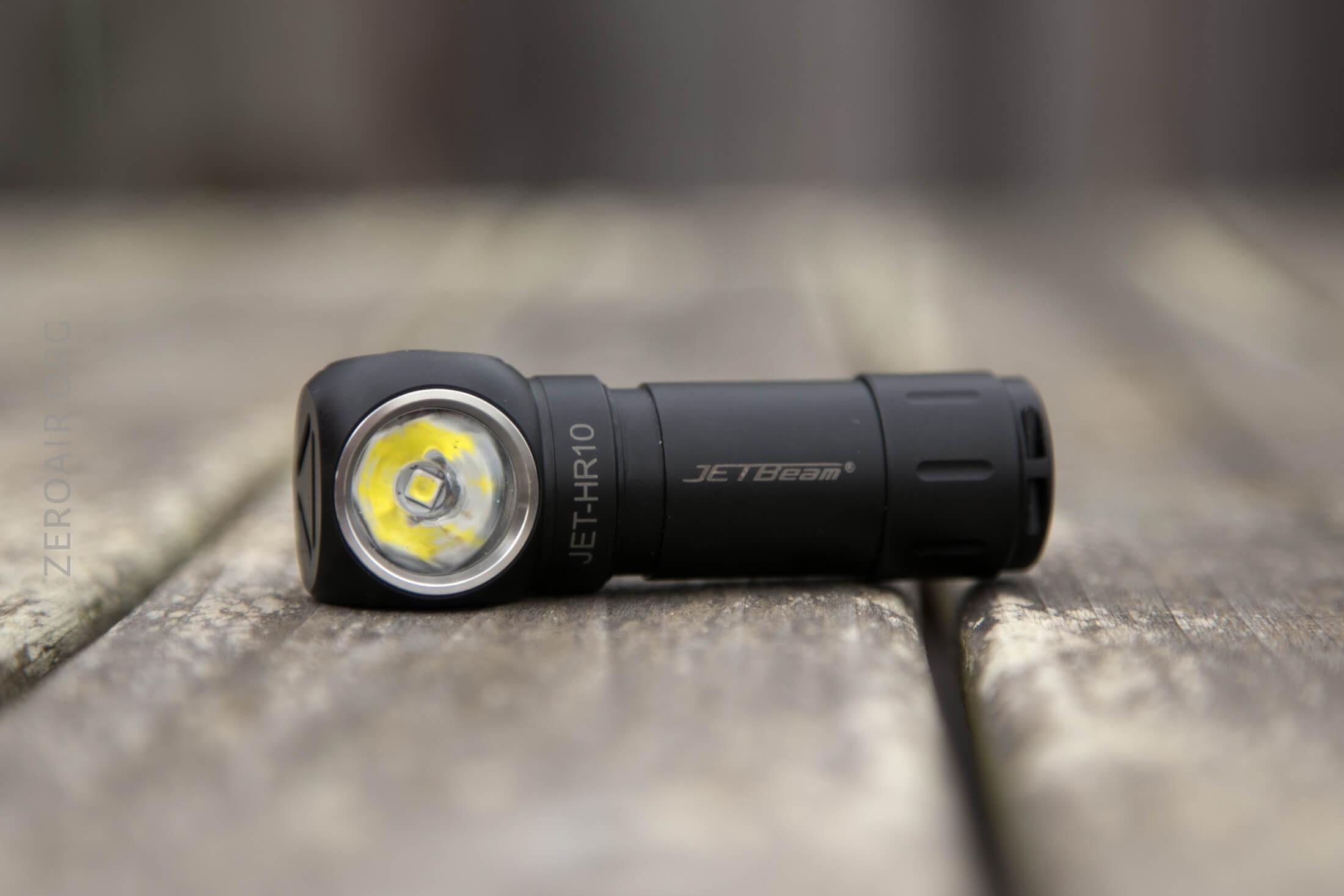 JETBeam HR10 Headlamp Review - ZeroAir Reviews