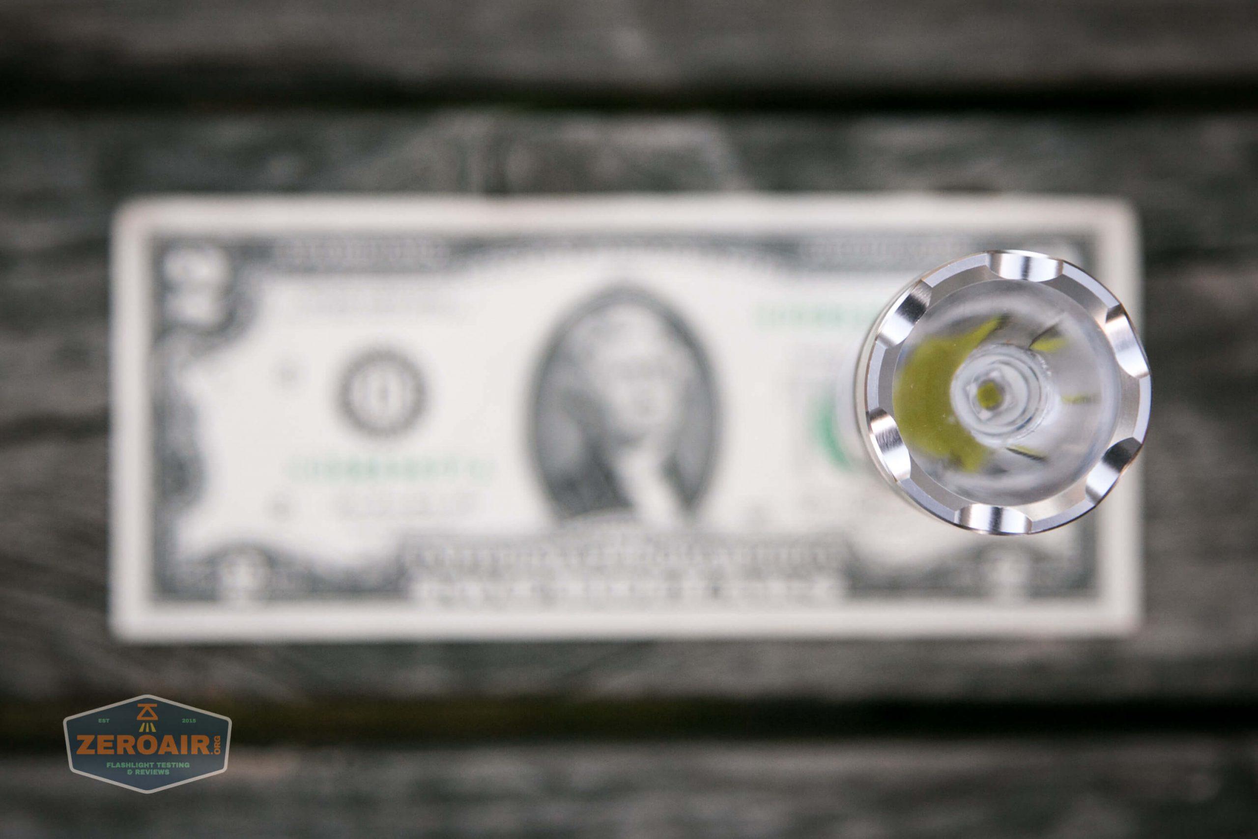 fireflylite e01 luminus sst-40 21700 size on two dollar bill 4