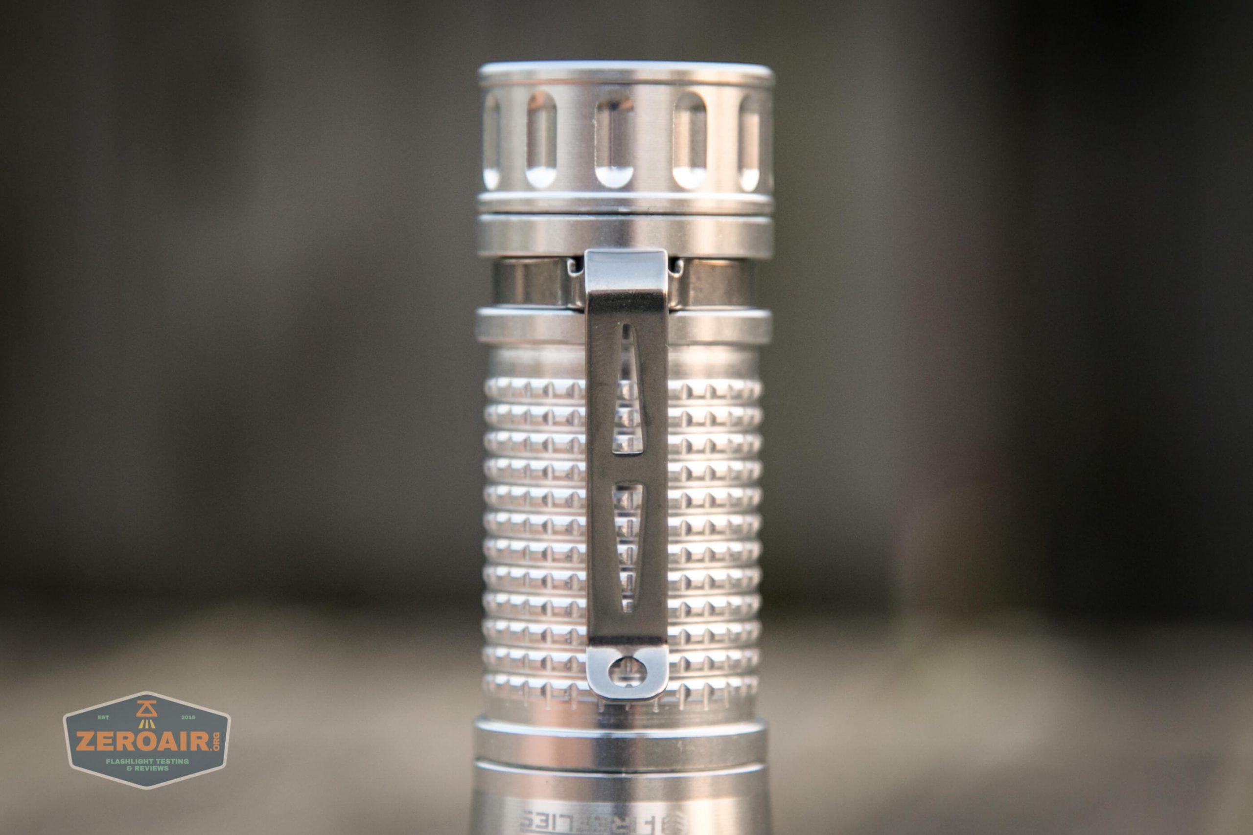 fireflylite e01 luminus sst-40 21700 pocket clip
