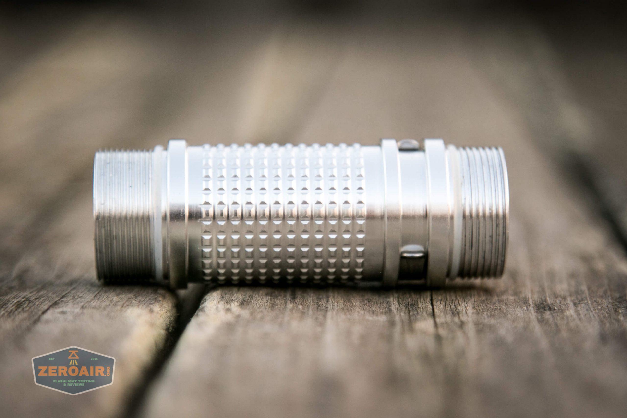 fireflylite e01 luminus sst-40 21700 disassembled cell tube