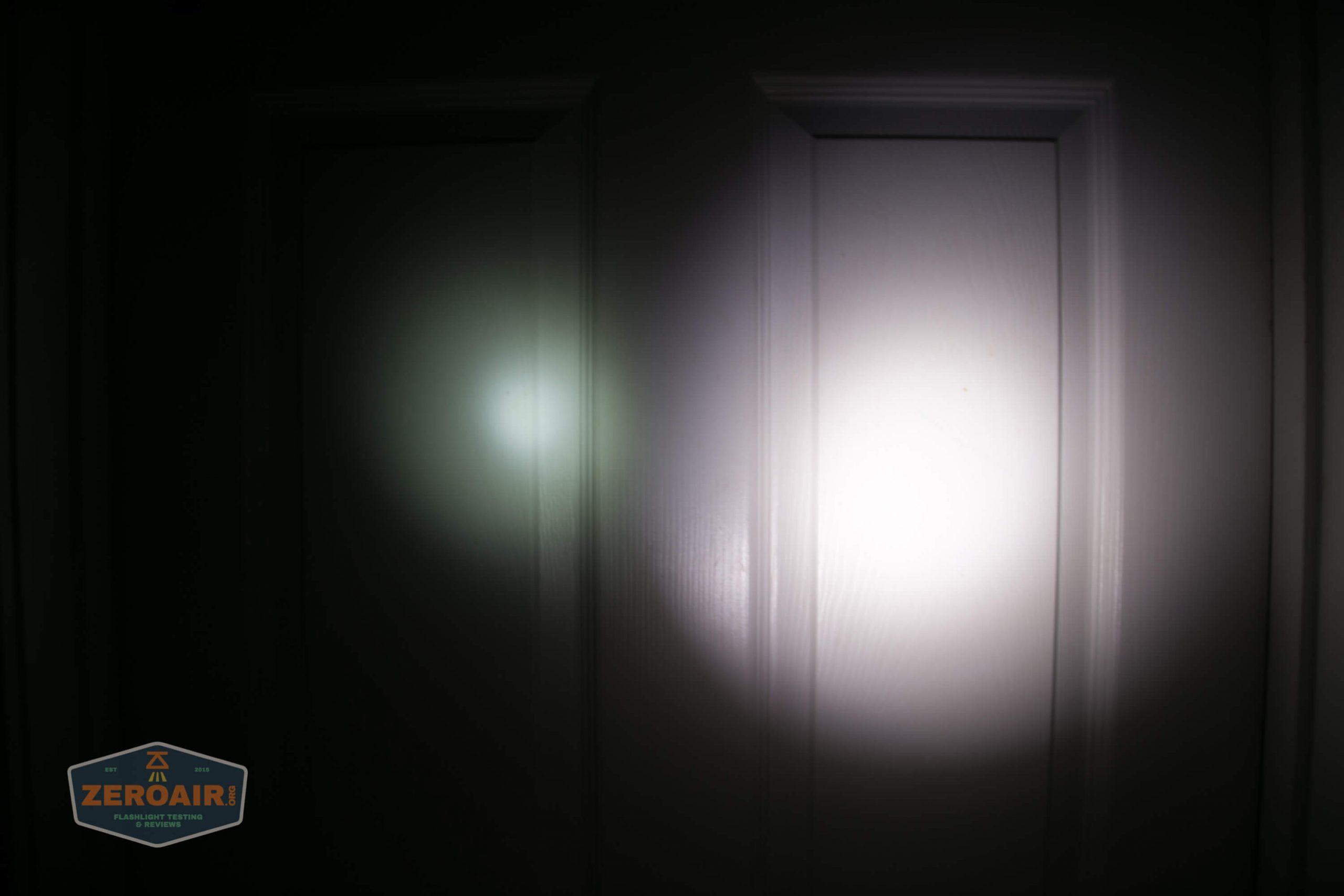 fireflylite e01 luminus sst-40 21700 beamshot door vs blf-348 1