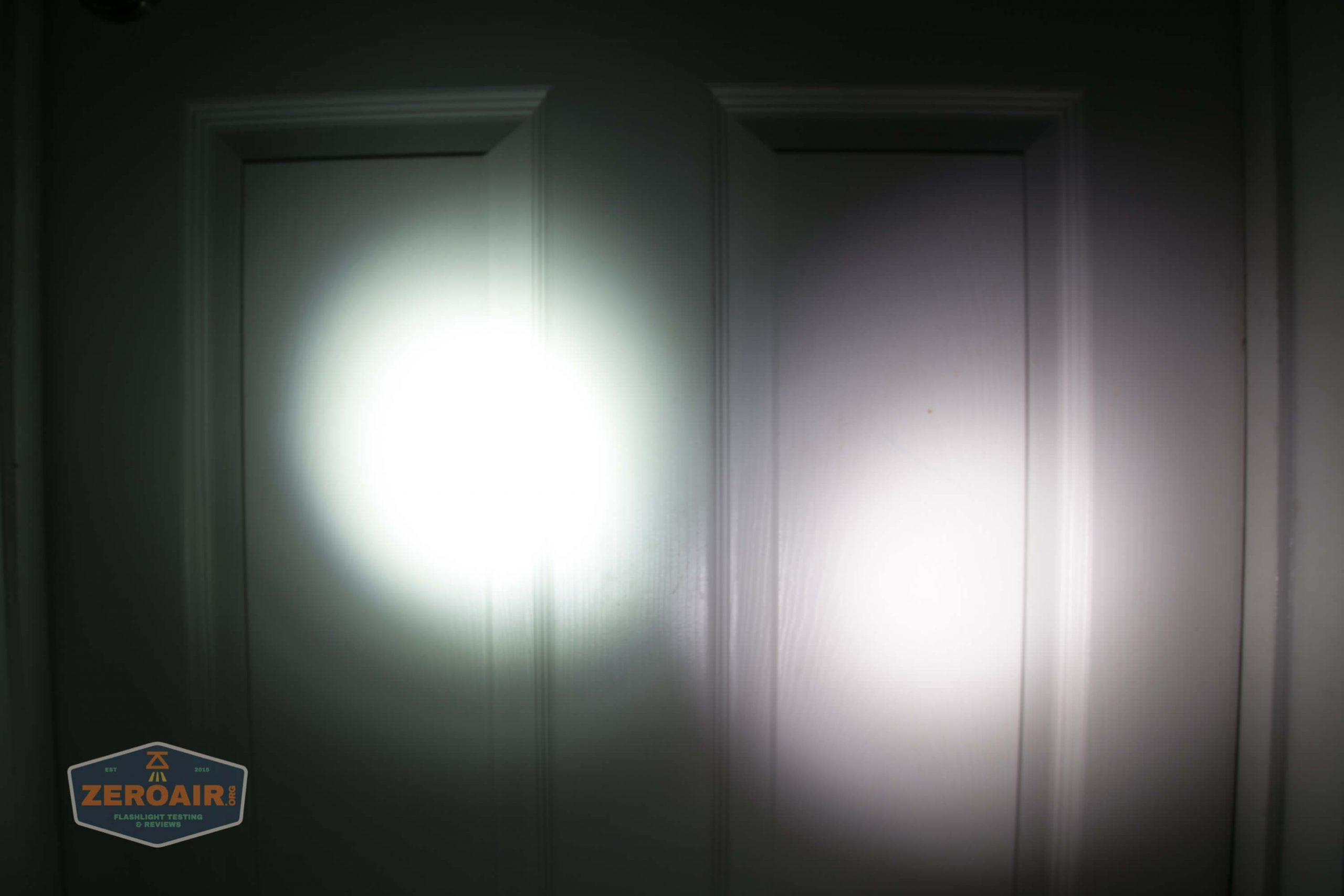 fireflylite e01 luminus sst-40 21700 beamshot door vs blf-348 3