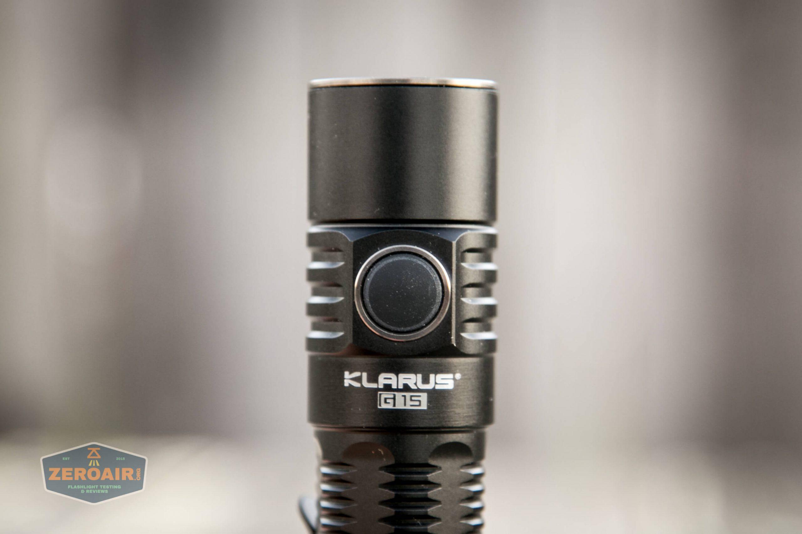 klarus g25 21700 cree xhp70.2 flashlight switch