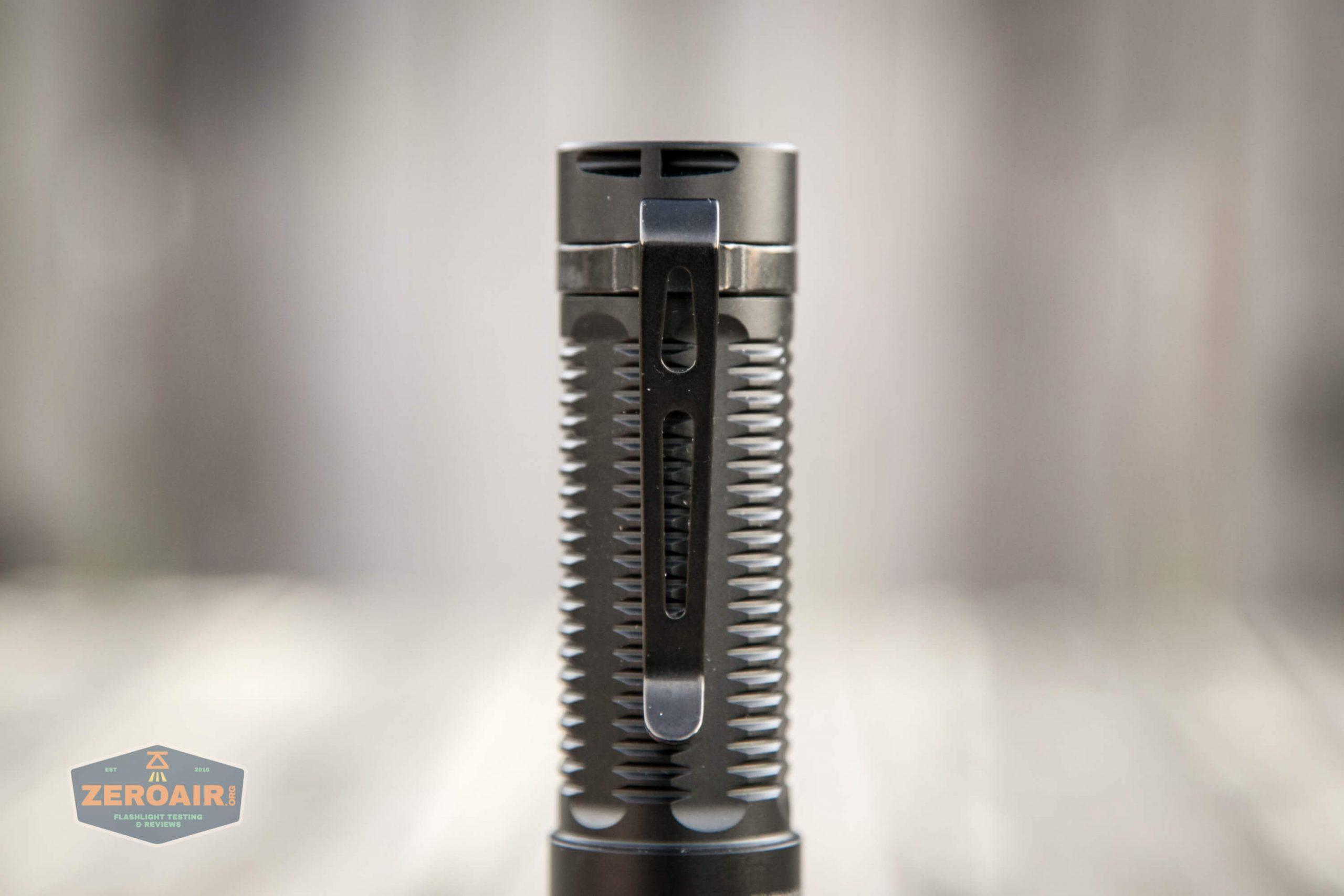 klarus g25 21700 cree xhp70.2 flashlight pocket clip