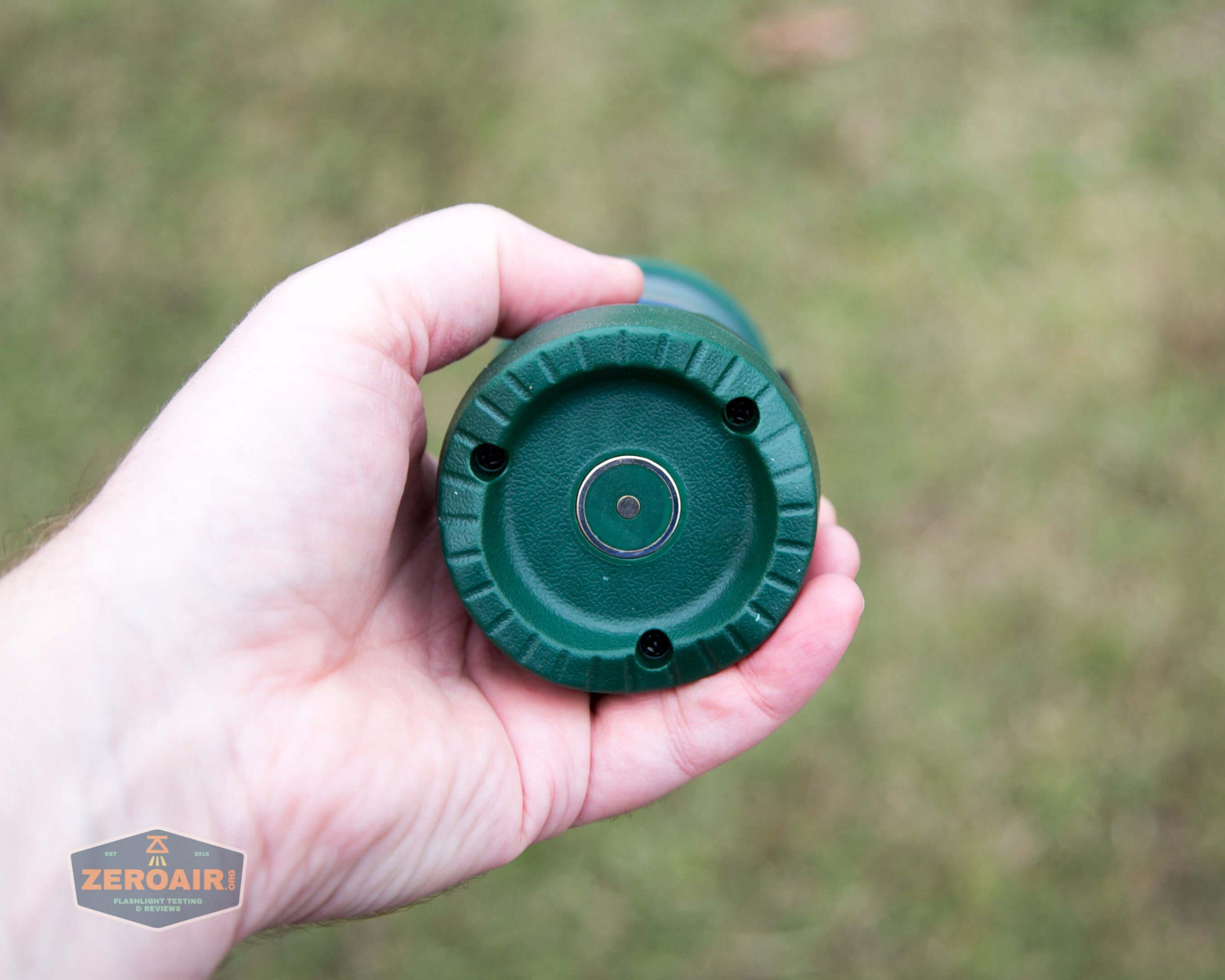 olight olantern lantern in hand base showing