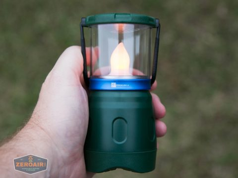 olight olantern lantern flame lamp on in hand