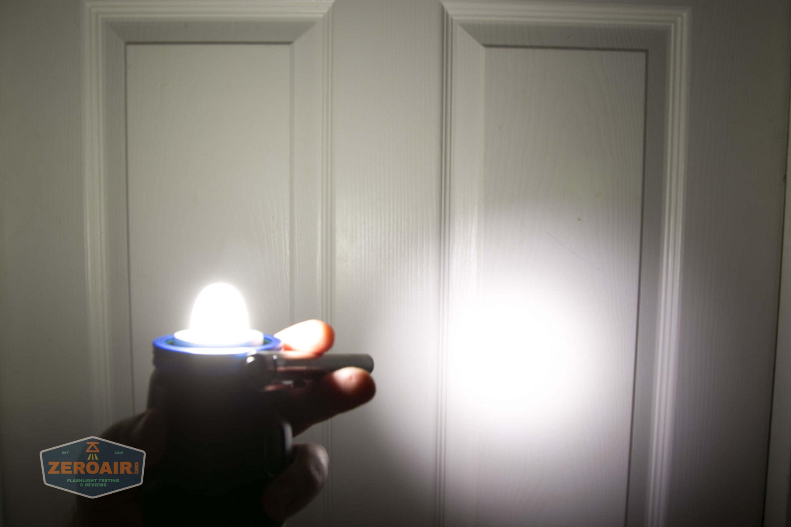 olight olantern lantern beamshots door