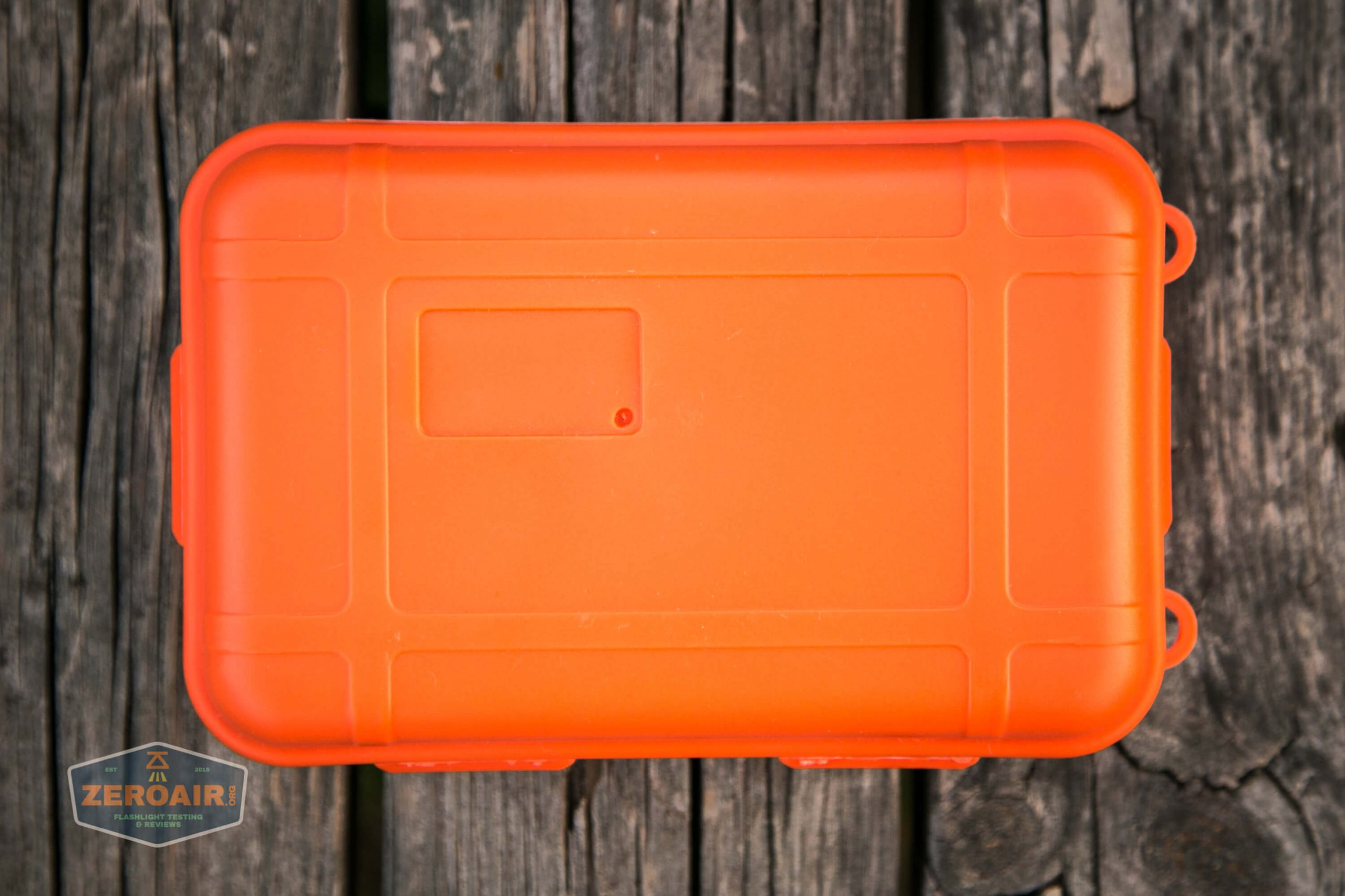 countycomm reylight 21700 quad emitter flashlight orange container
