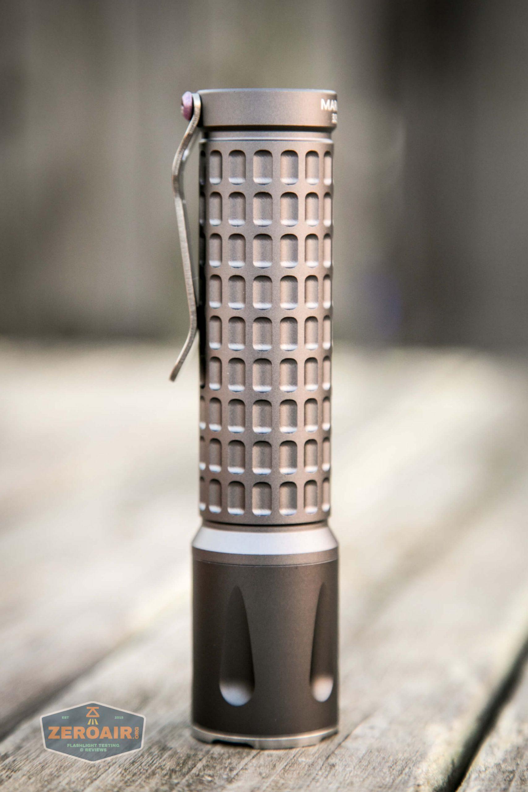 countycomm reylight 21700 quad emitter flashlight showing 4 sides