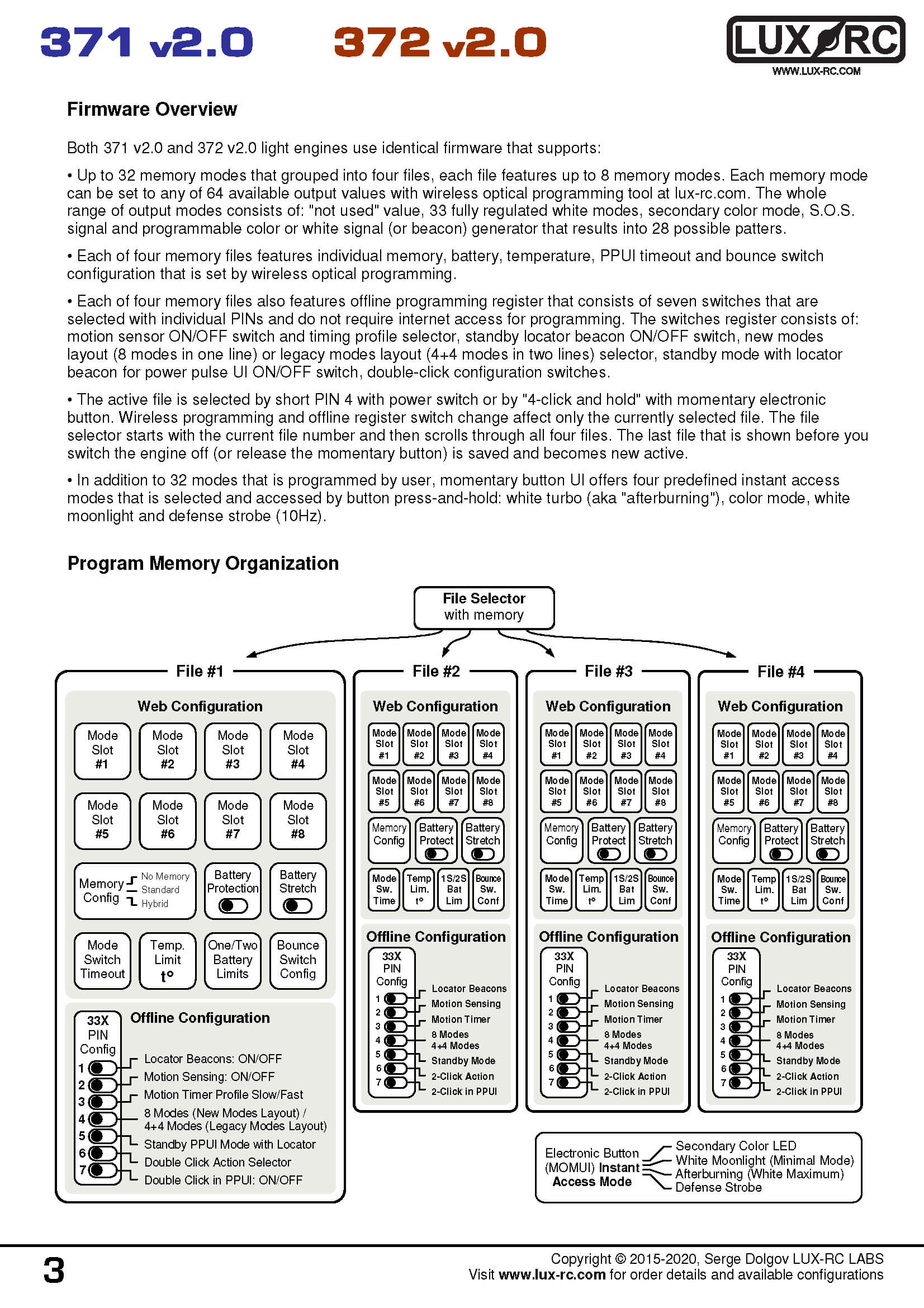 lux-rc 371d v2.0 manual in image format page 3
