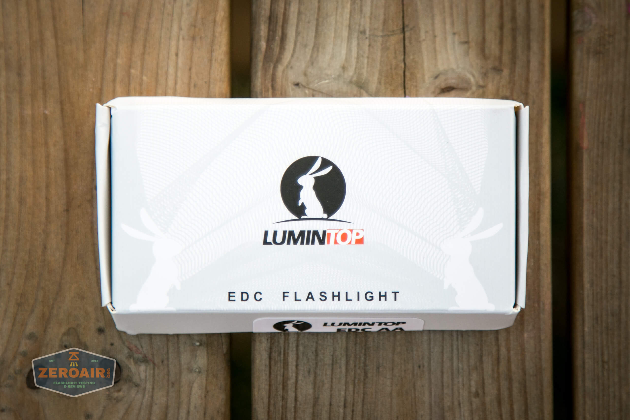 lumintop edc aa flashlight box