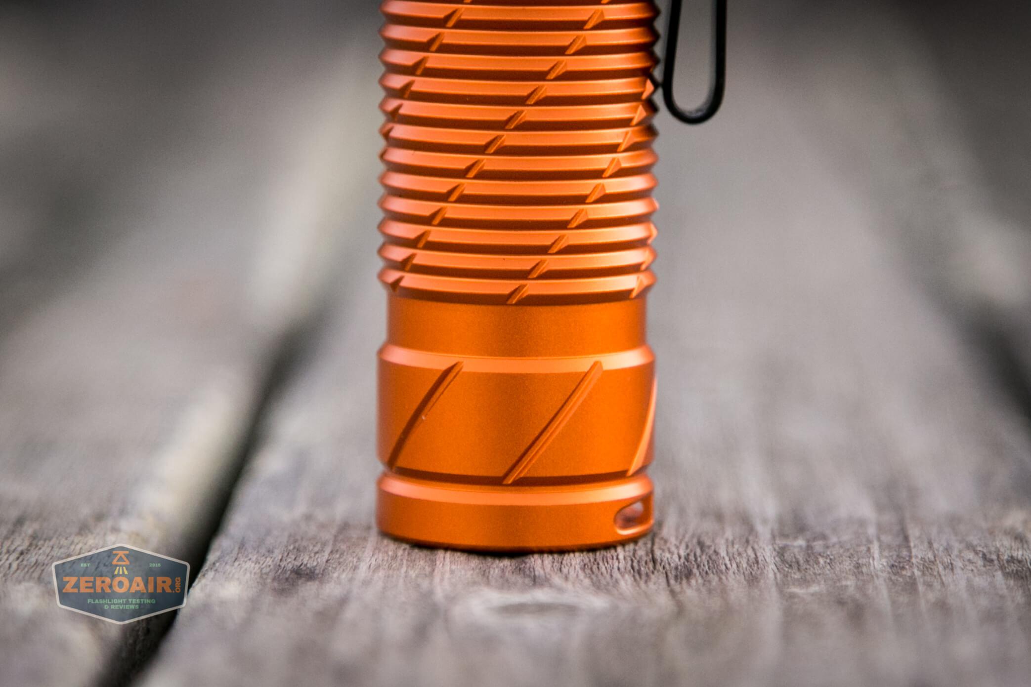 olight perun 2 21700 headlamp orange tailcap