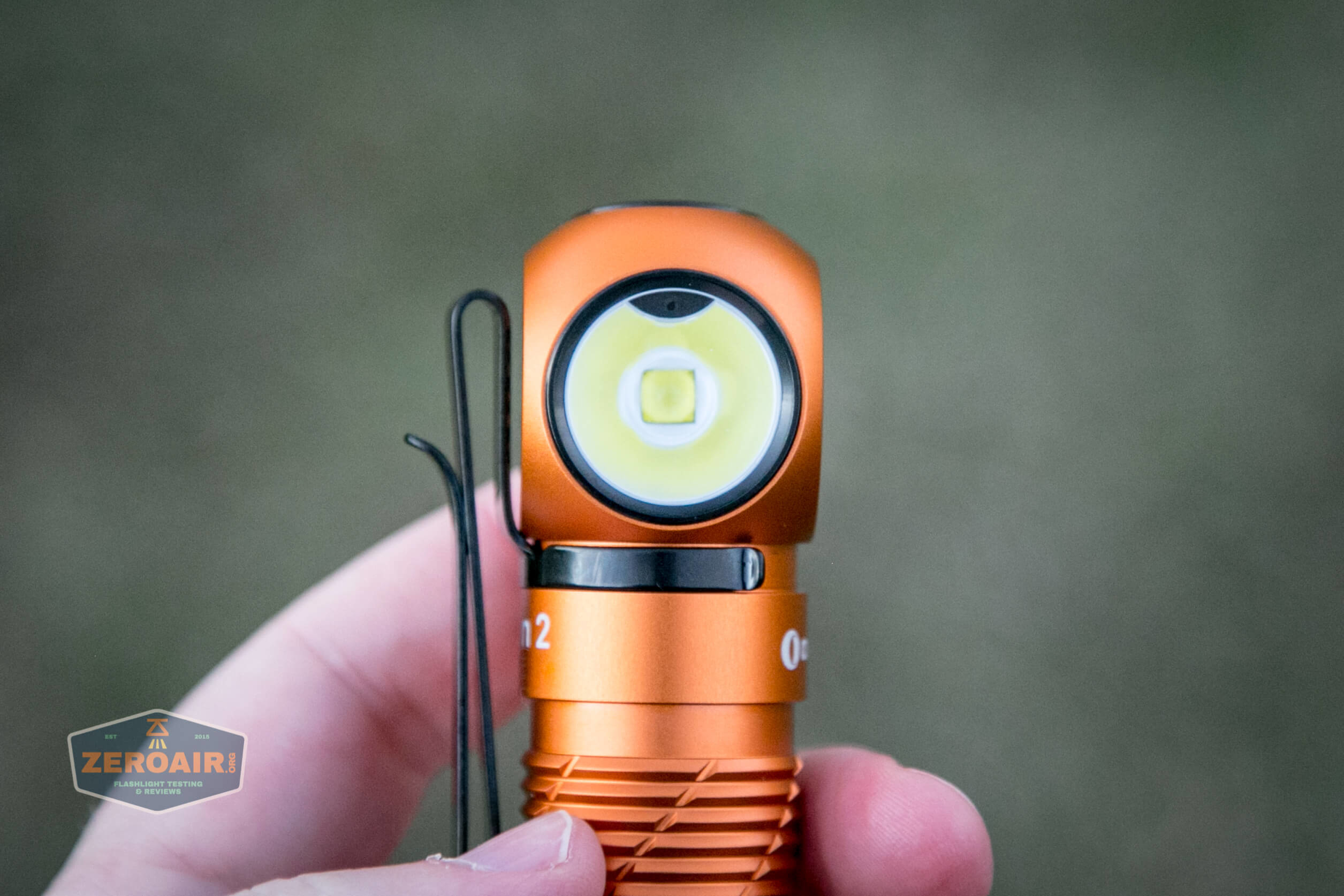 olight perun 2 21700 headlamp orange emitter