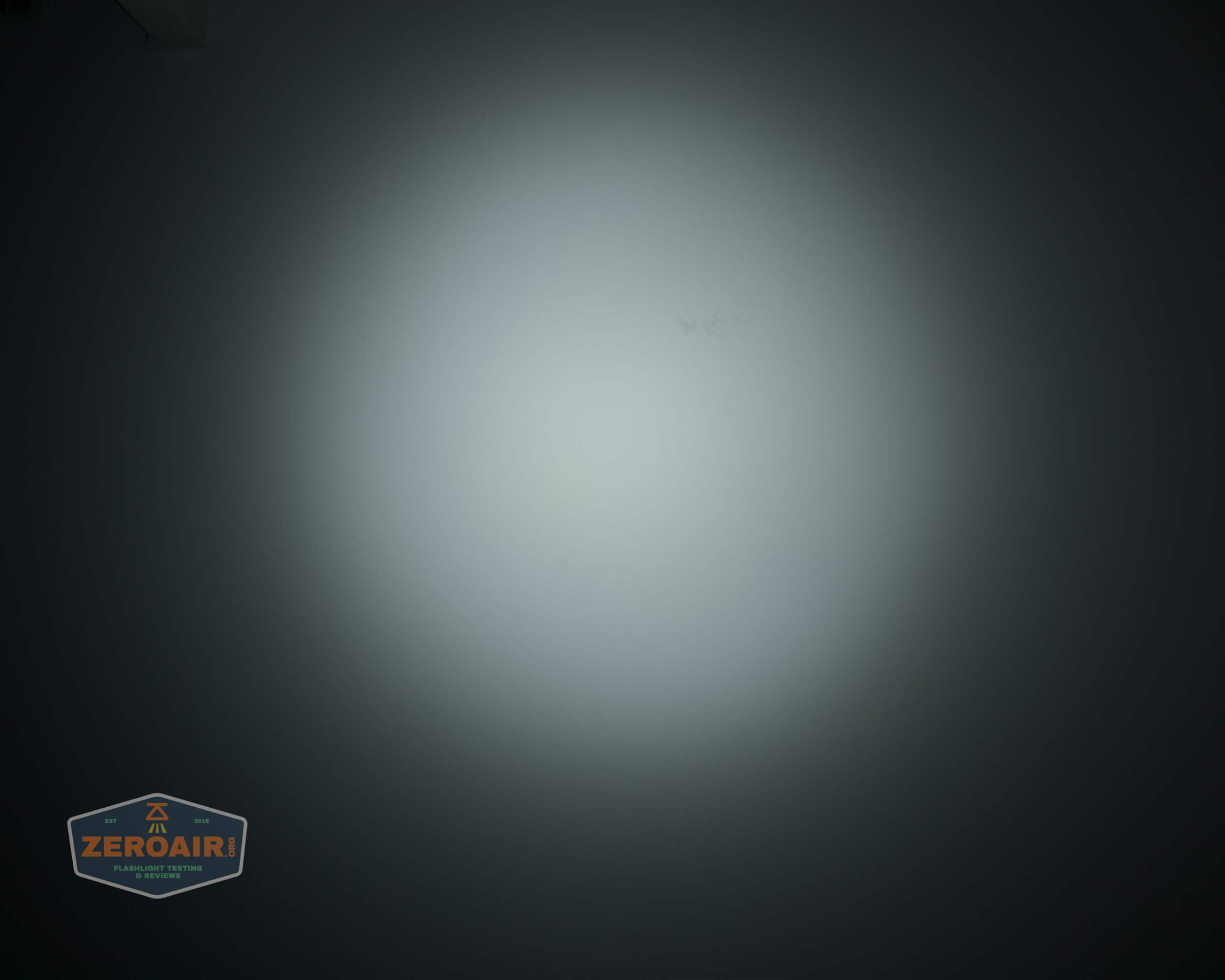 olight perun 2 21700 headlamp orange beamshot ceiling 4