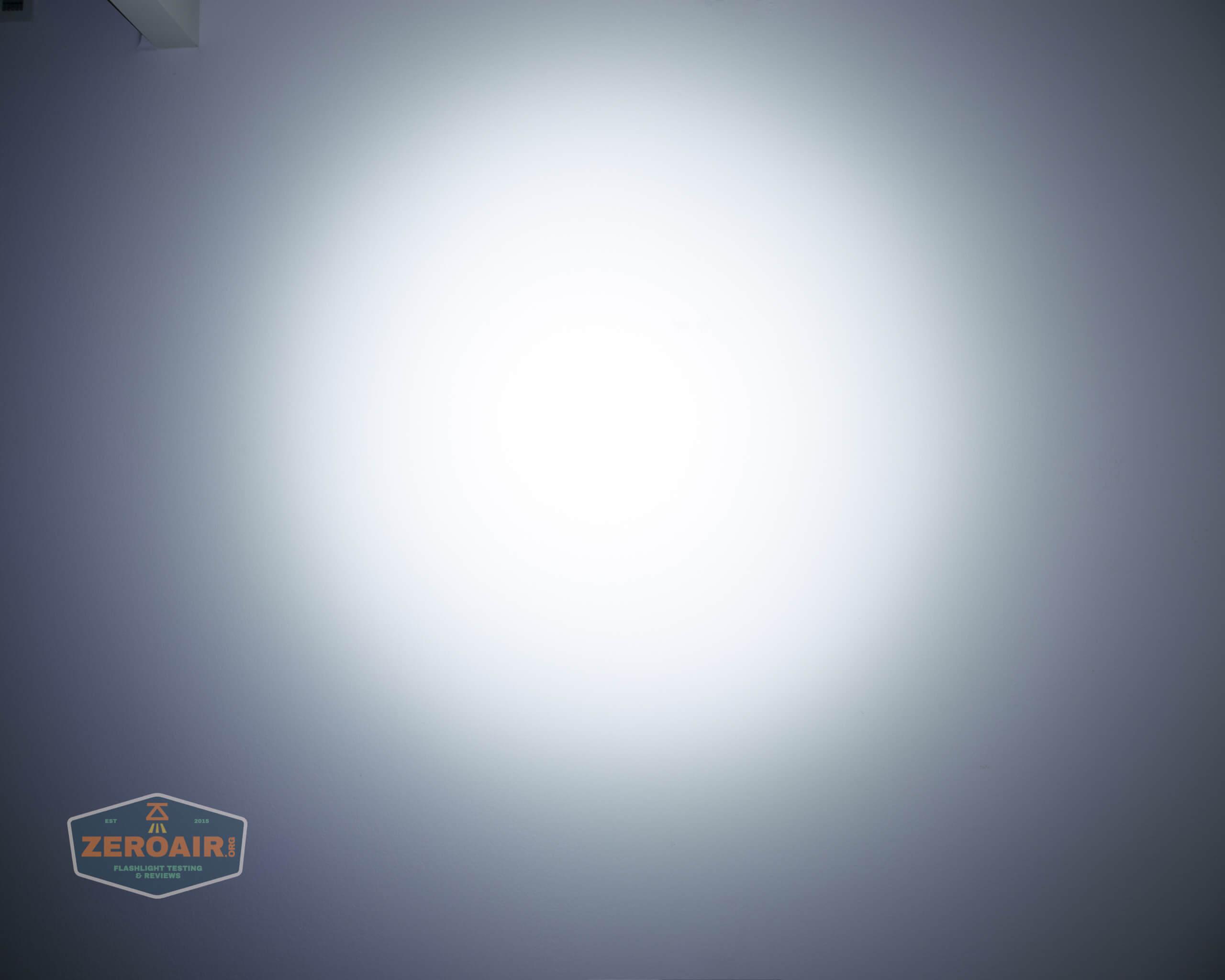 olight perun 2 21700 headlamp orange beamshot ceiling 5