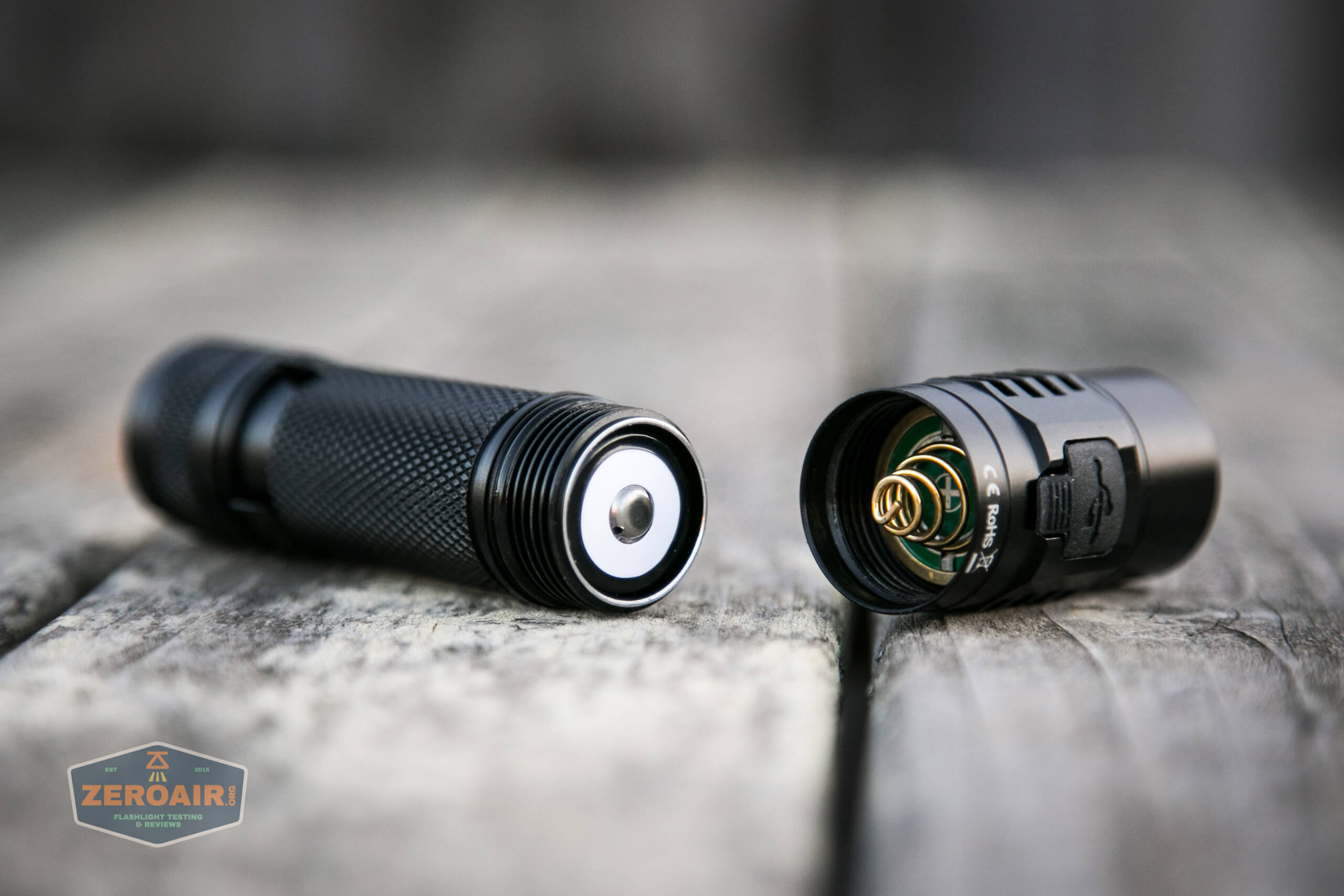 sofirn sc31 pro Andúril 18650 flashlight cell installed