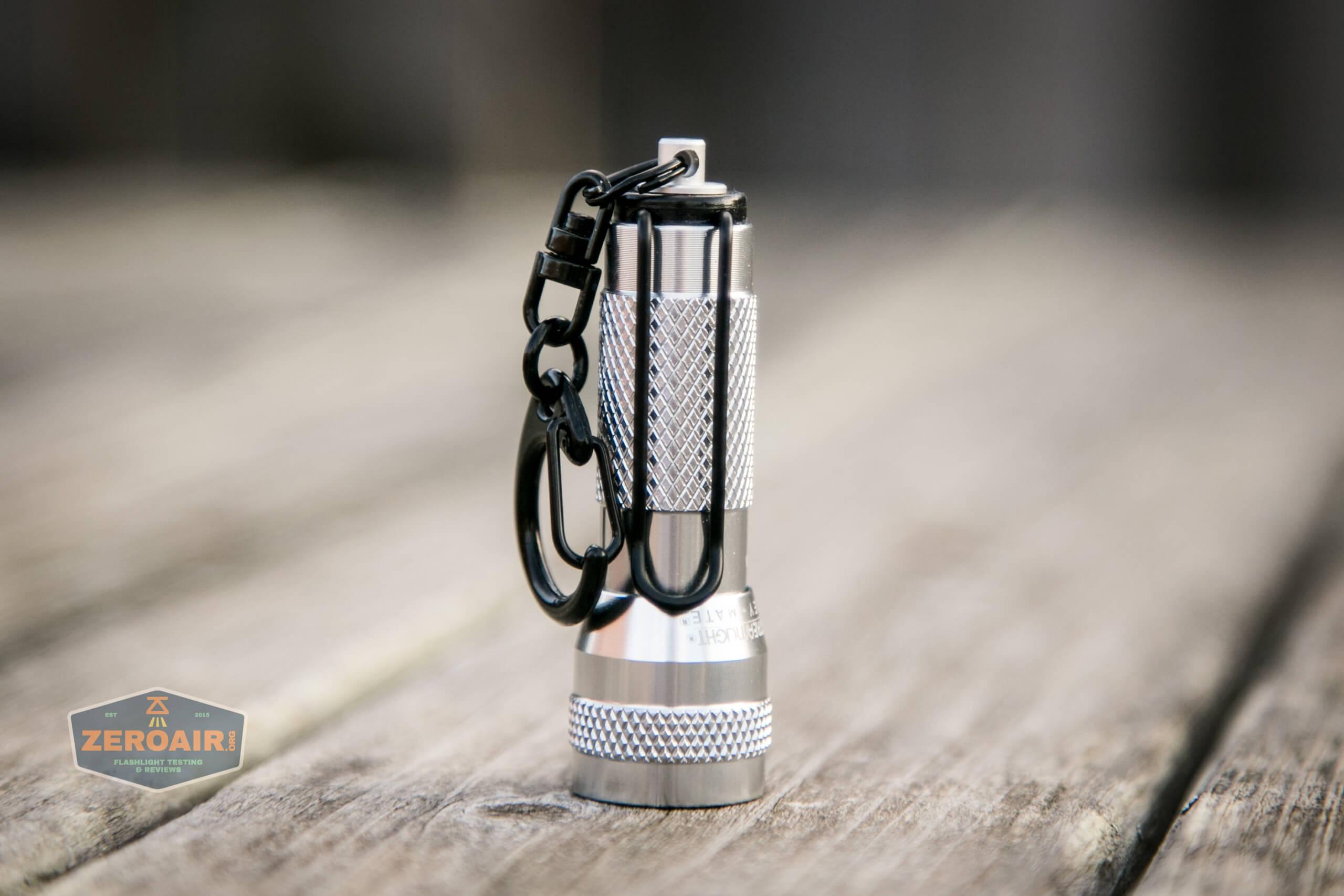 streamlight key-mate 72101 keychain twisty flashlight headstanding