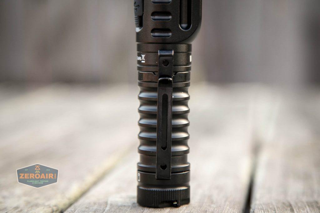wurkkos hd20 21700 headlamp light pocket clip installed