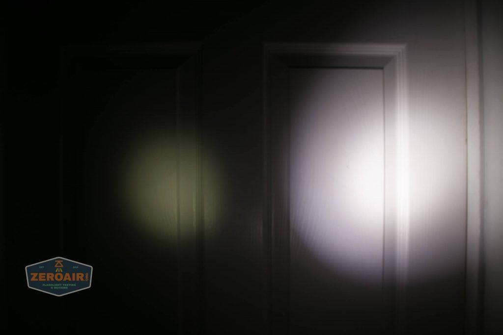 wurkkos hd20 21700 headlamp beamshot door spot 1