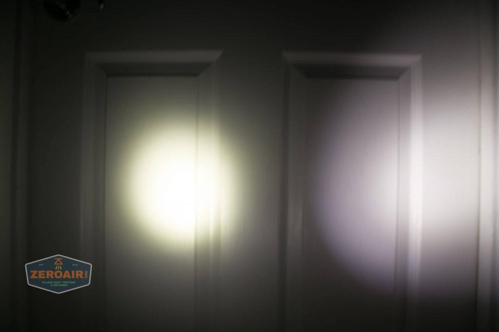 wurkkos hd20 21700 headlamp beamshot door spot 2