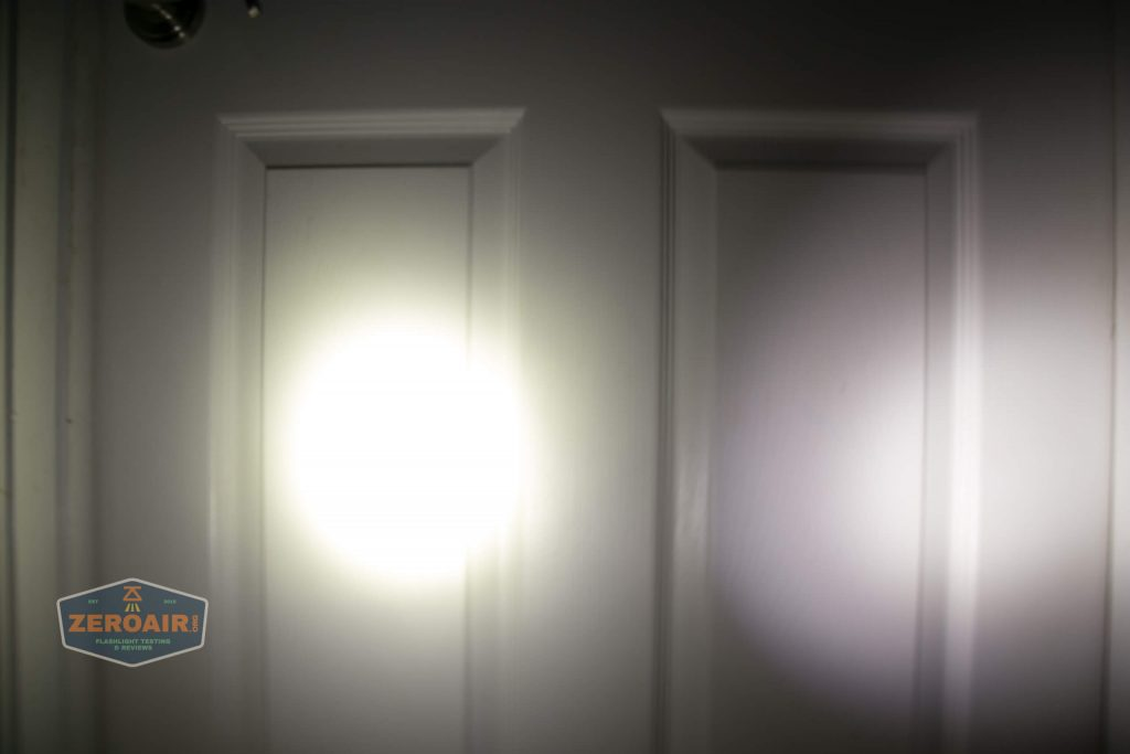 wurkkos hd20 21700 headlamp beamshot door spot 3