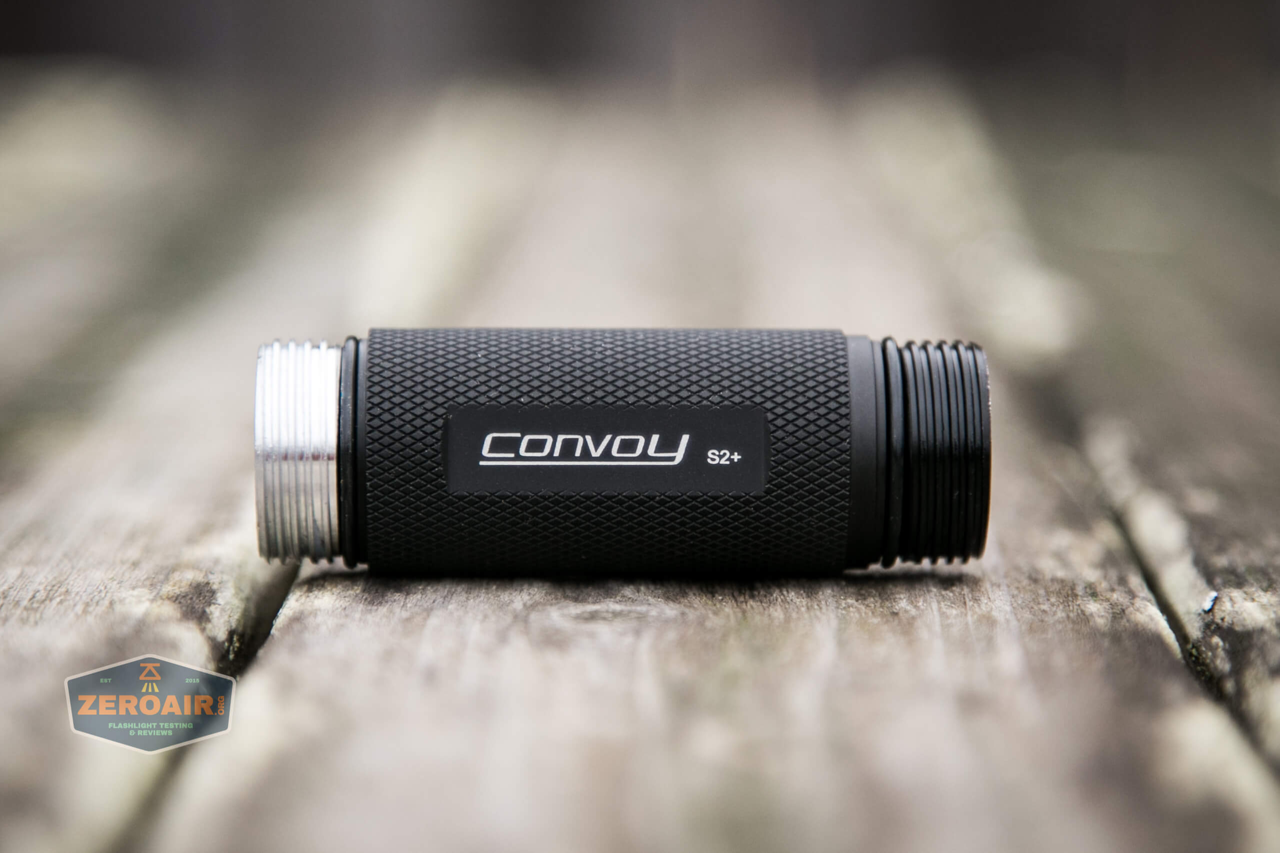 convoy s2+ uv flashlight 18650 cell tube