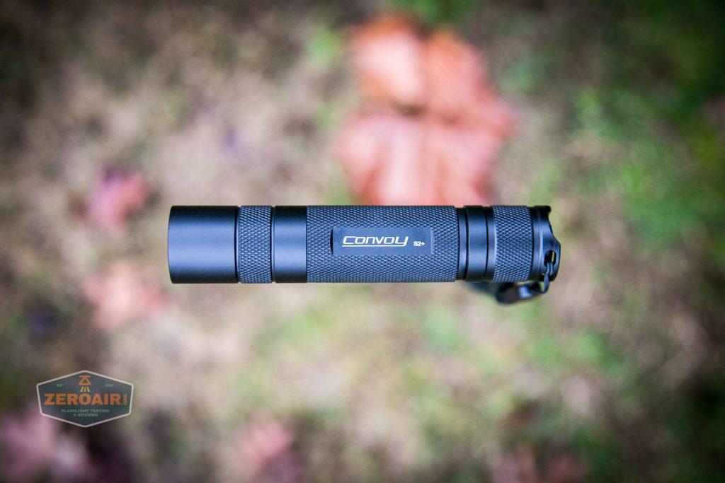 convoy s2+ uv flashlight floating