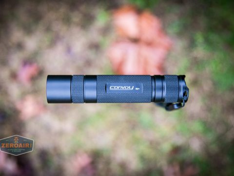 convoy s2+ uv flashlight floating