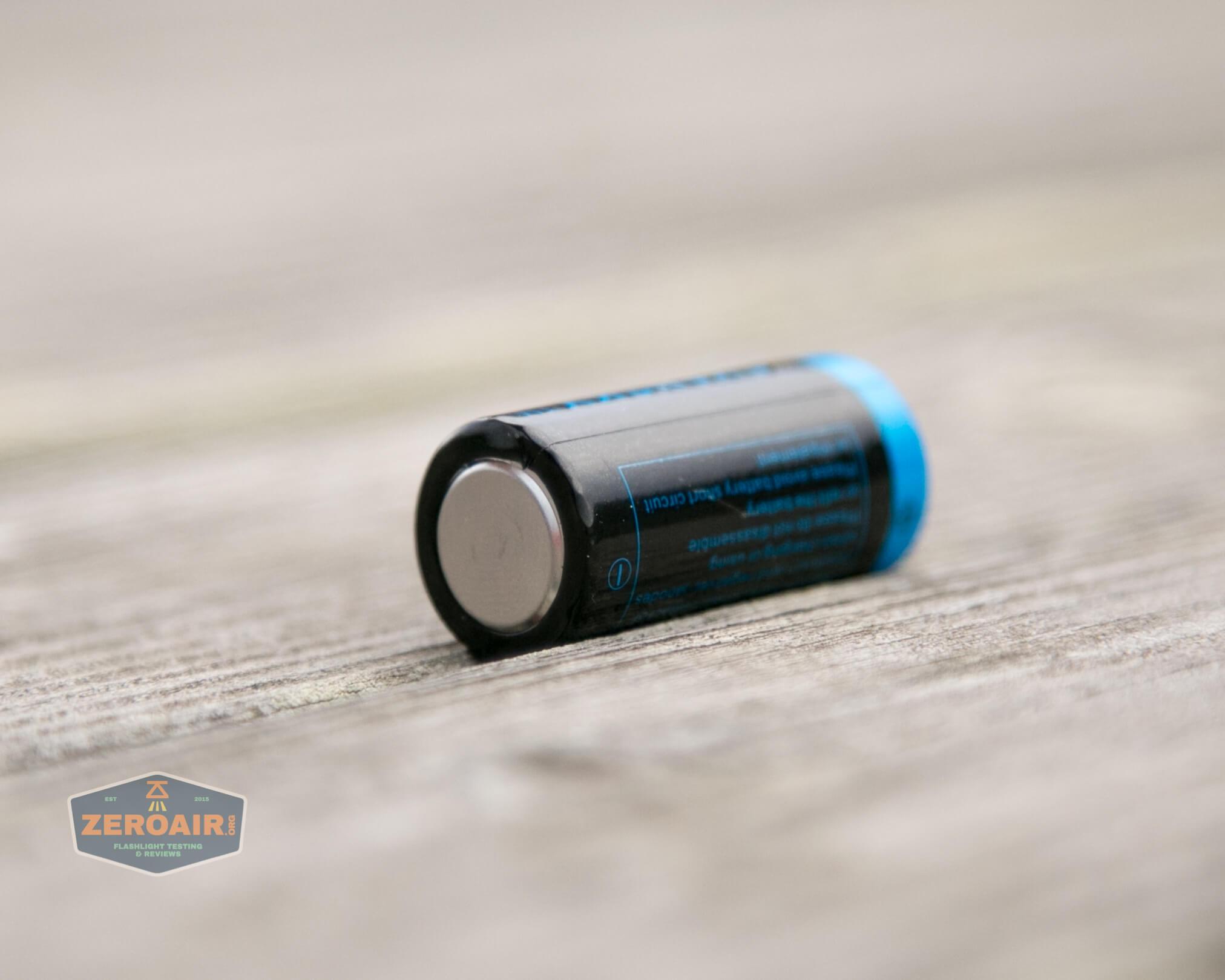 freasygears cyansky m3 titanium pocket flashlight 16340