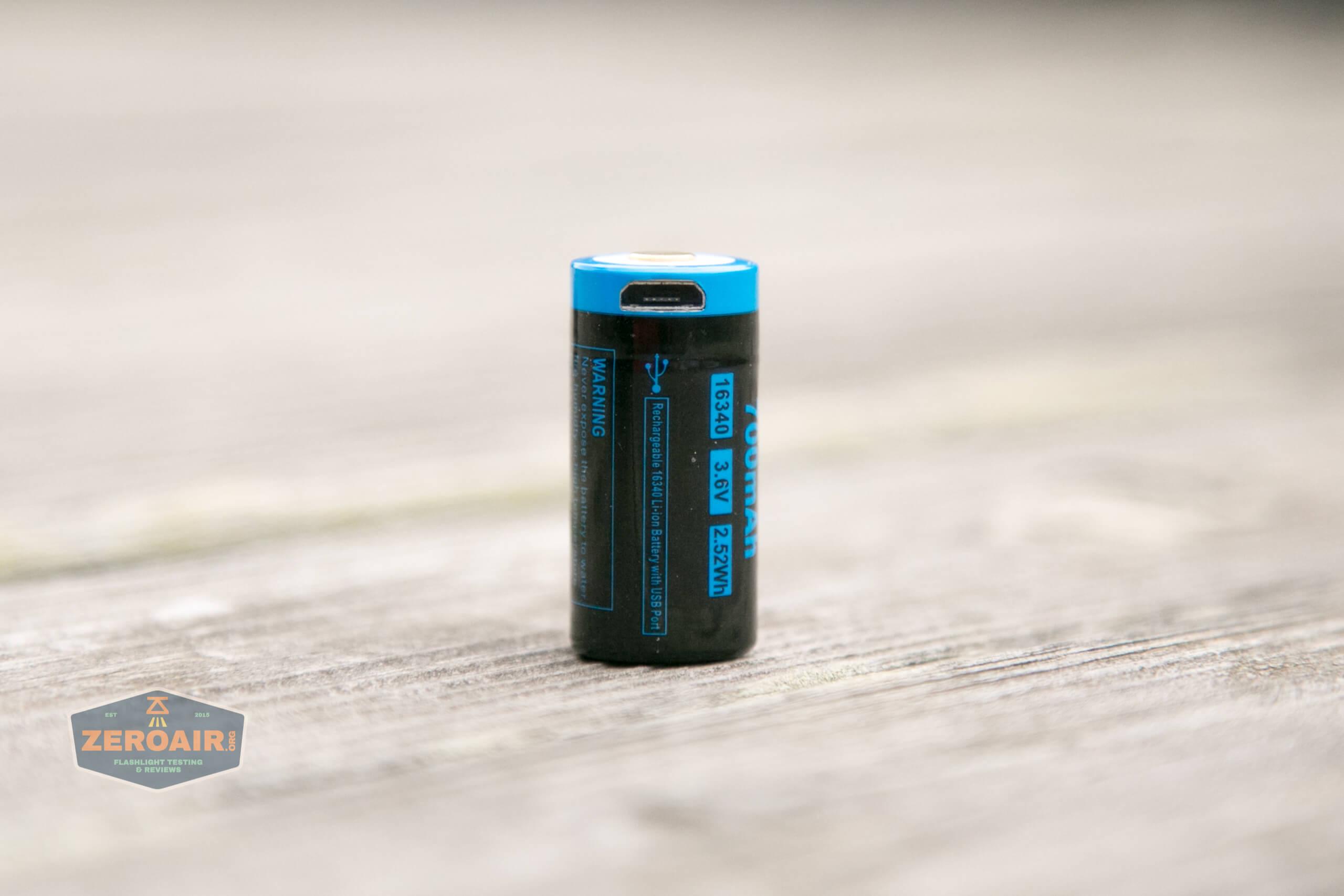 freasygears cyansky m3 titanium pocket flashlight included 16340
