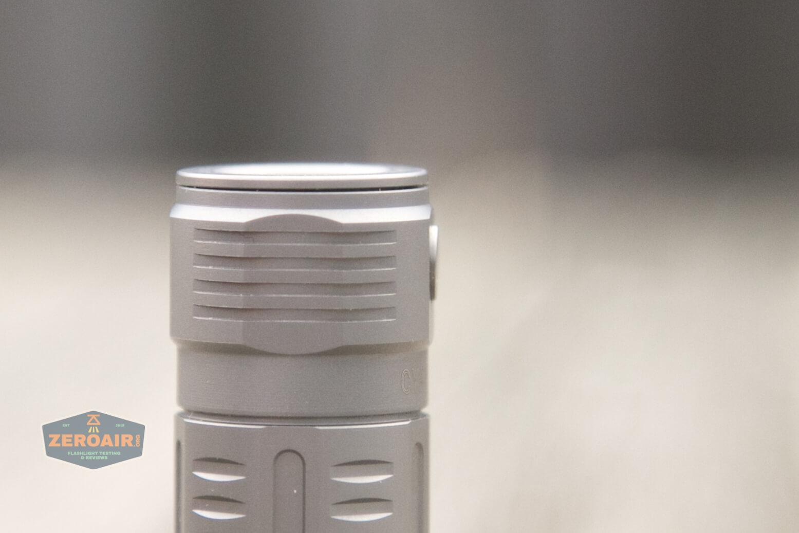 freasygears cyansky m3 titanium pocket flashlight switch height
