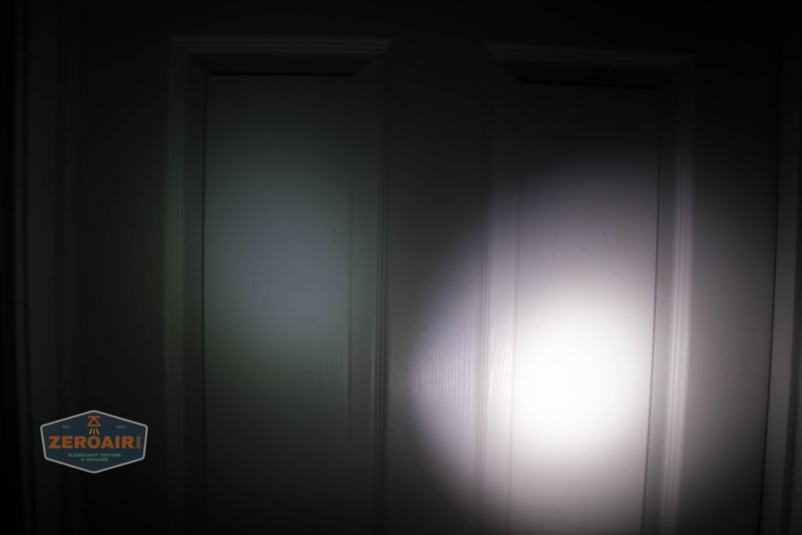 freasygears cyansky m3 titanium pocket flashlight beamshot door 1