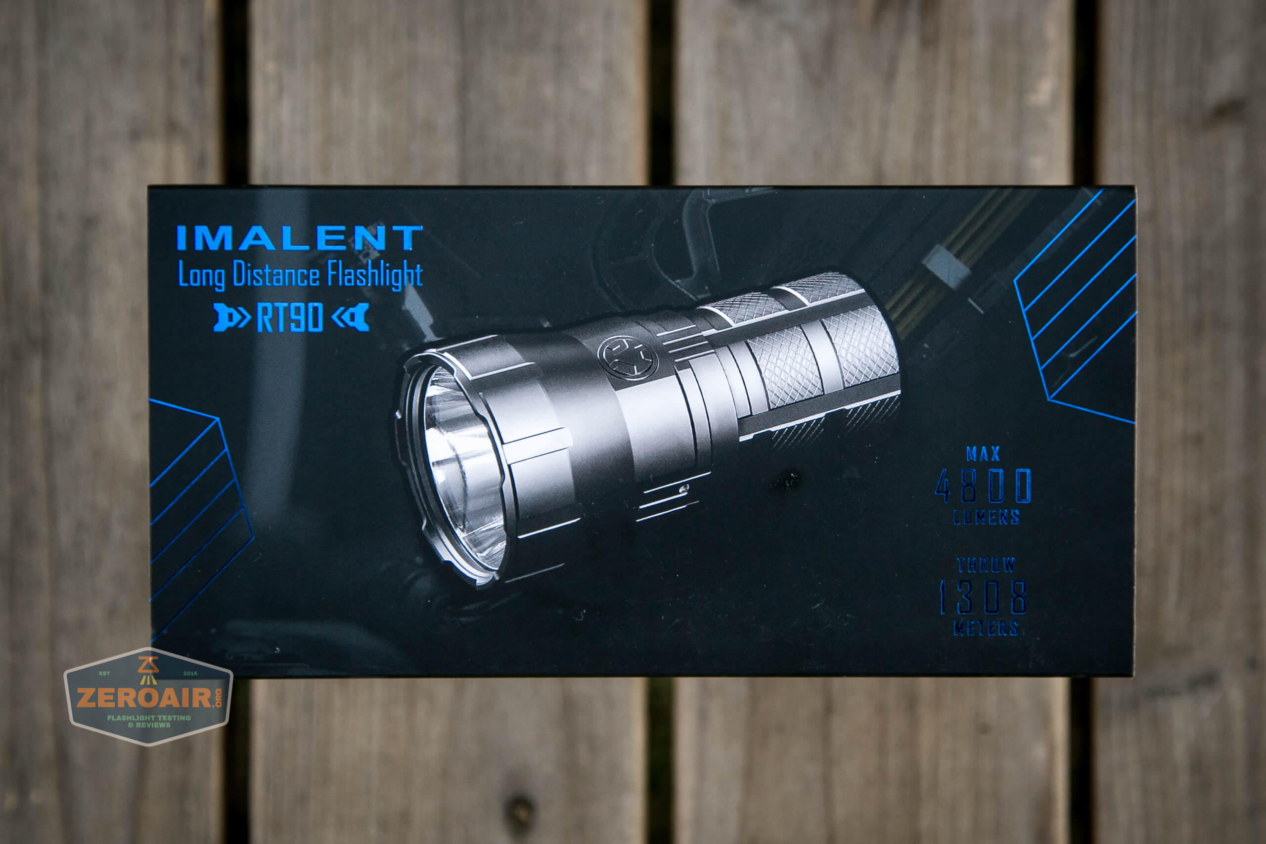 Imalent RT90 Luminus SBT-90.2 Flashlight box