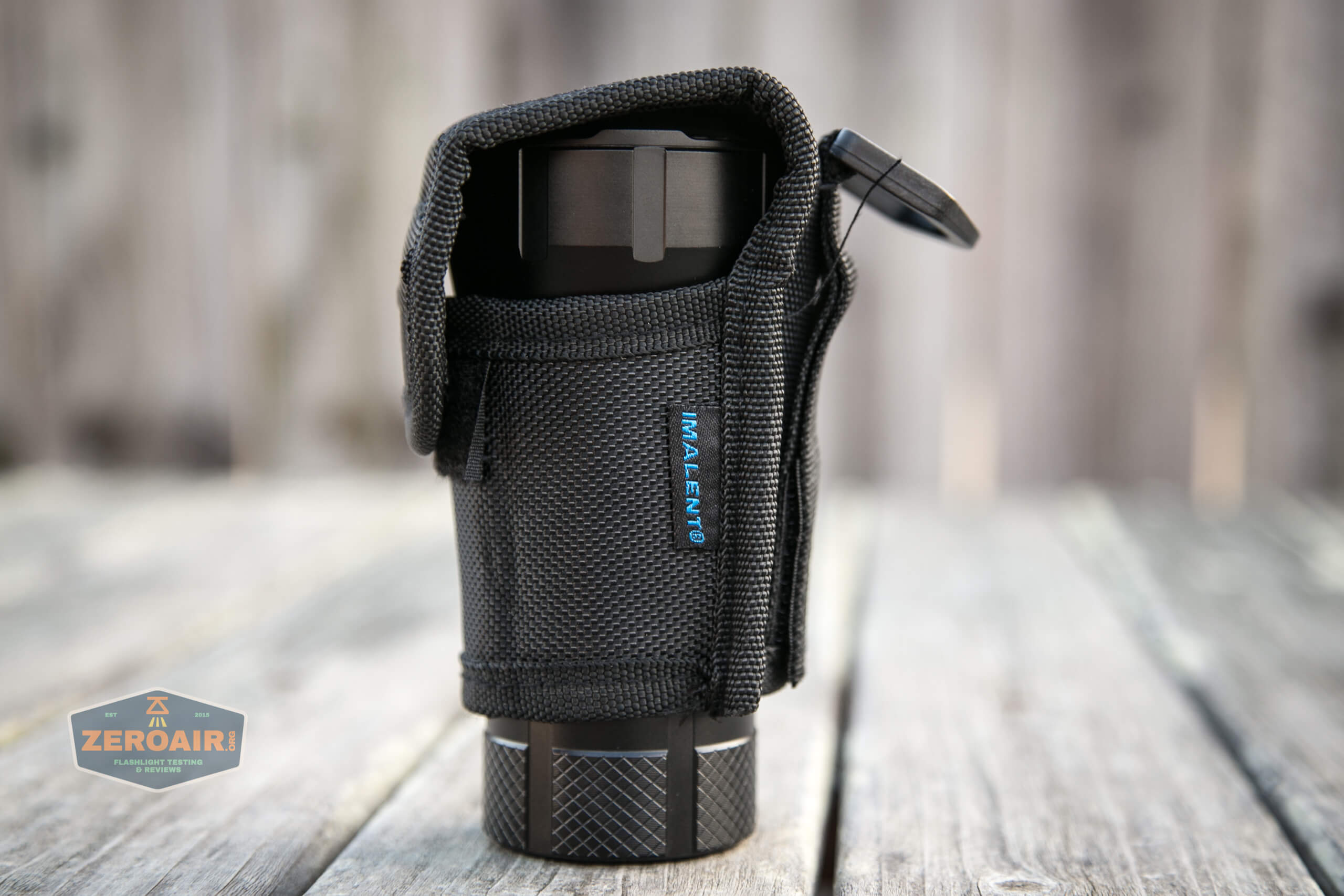 Imalent RT90 Luminus SBT-90.2 Flashlight nylon pouch