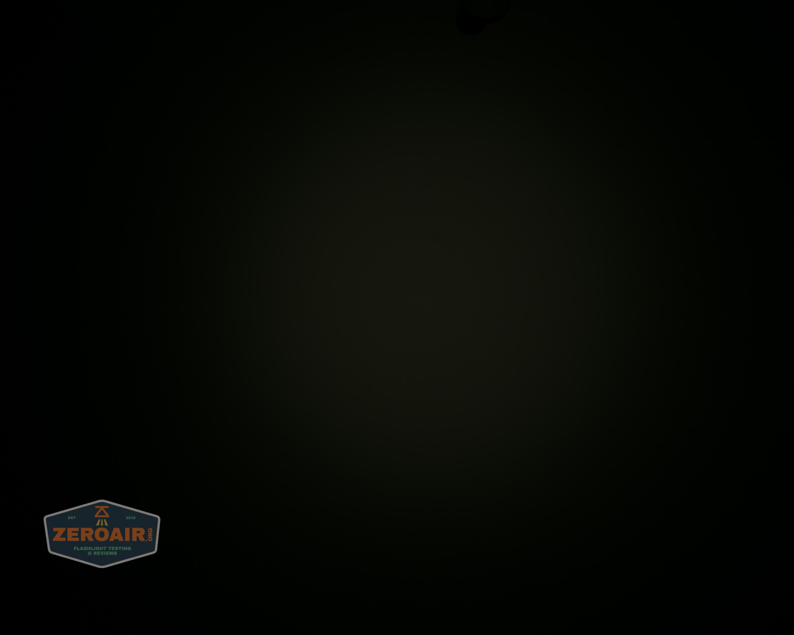 manker e14iii 18650 flood flashlight beamshot ceiling 4