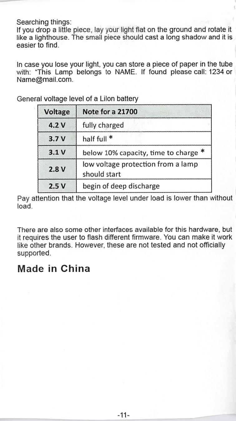 NlightD T90 luminus sbt-90.2 Andúril manual 4