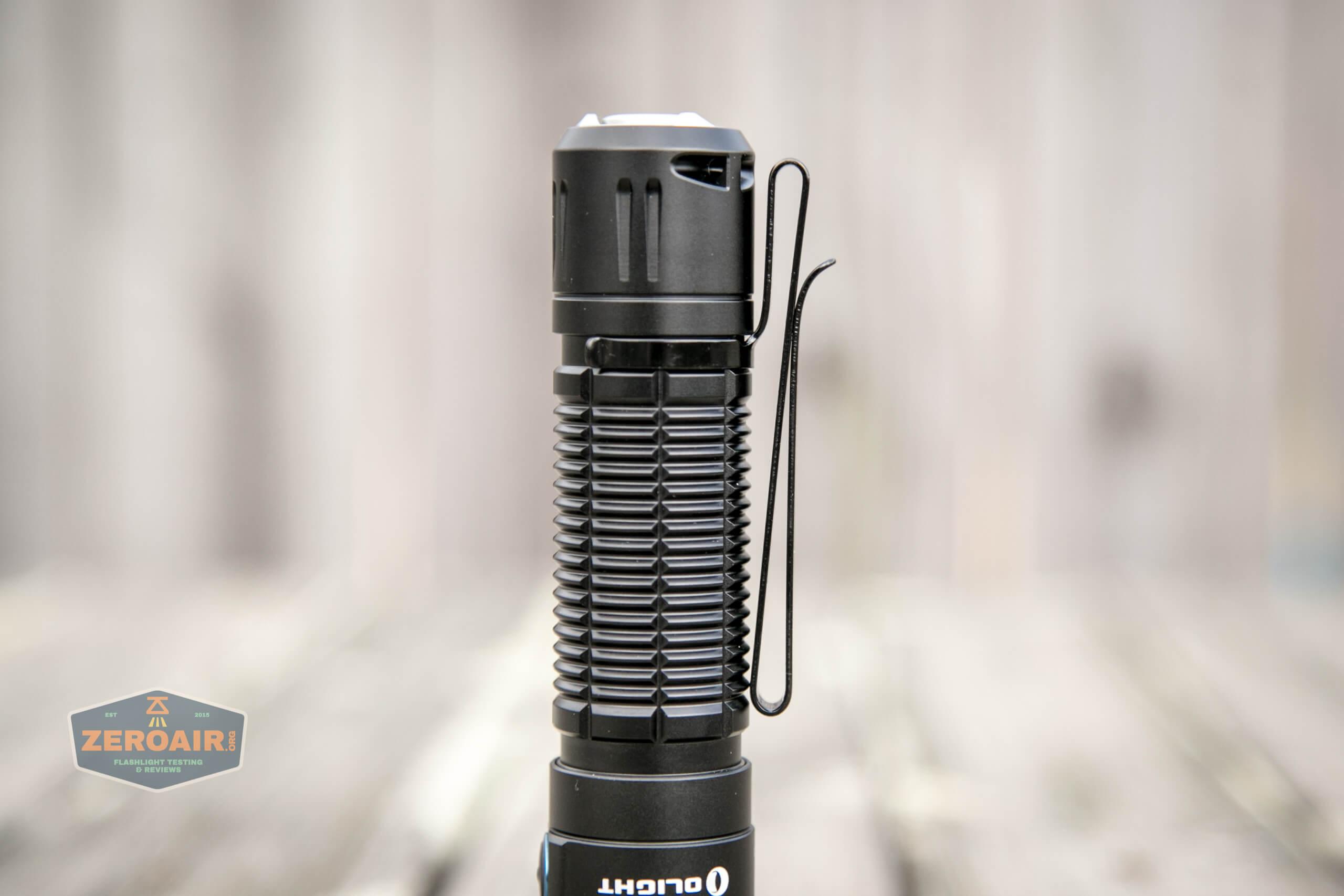 olight freyr rgb flashlight with two way pocket clip