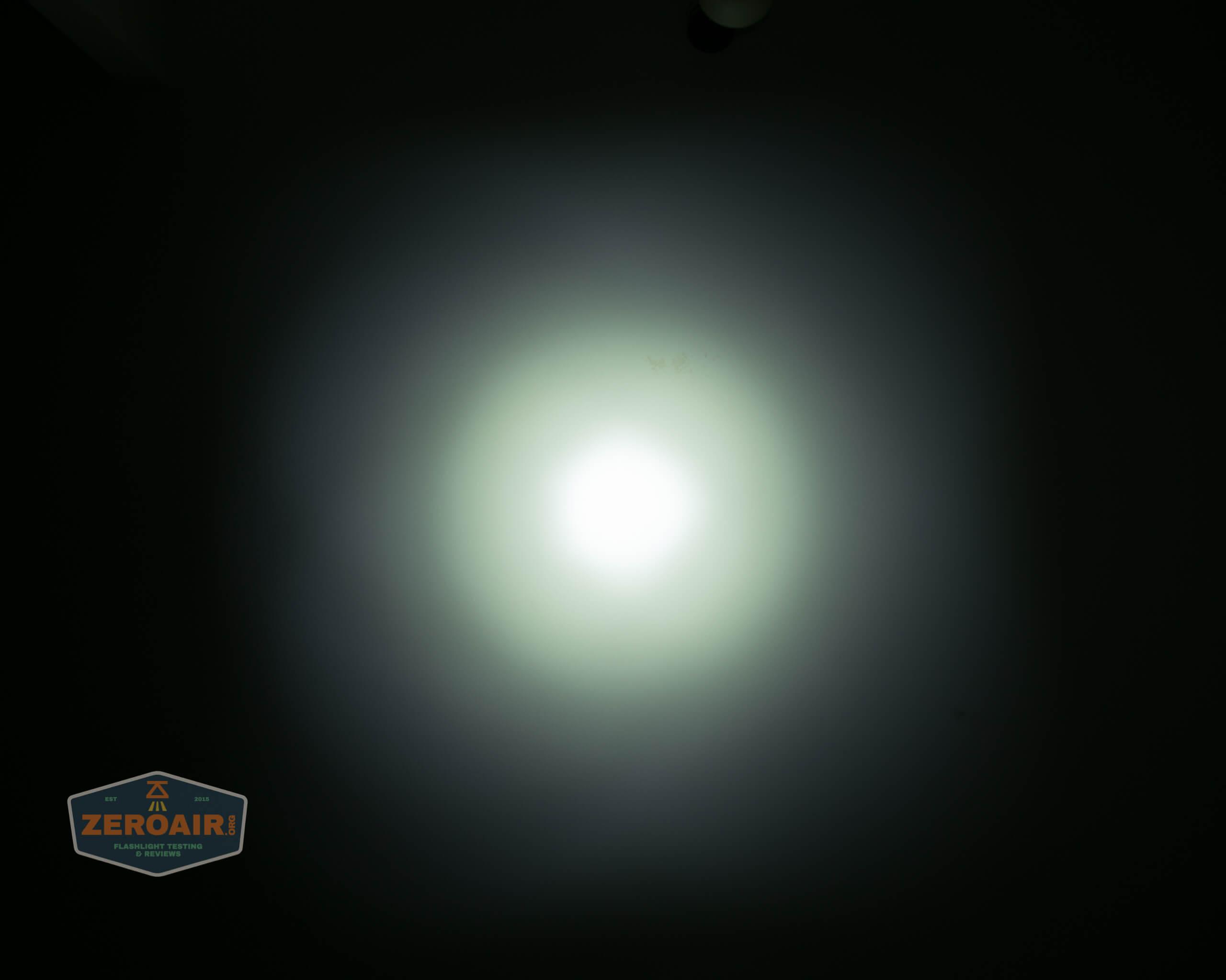 olight freyr rgb flashlight ceiling beamshots 2