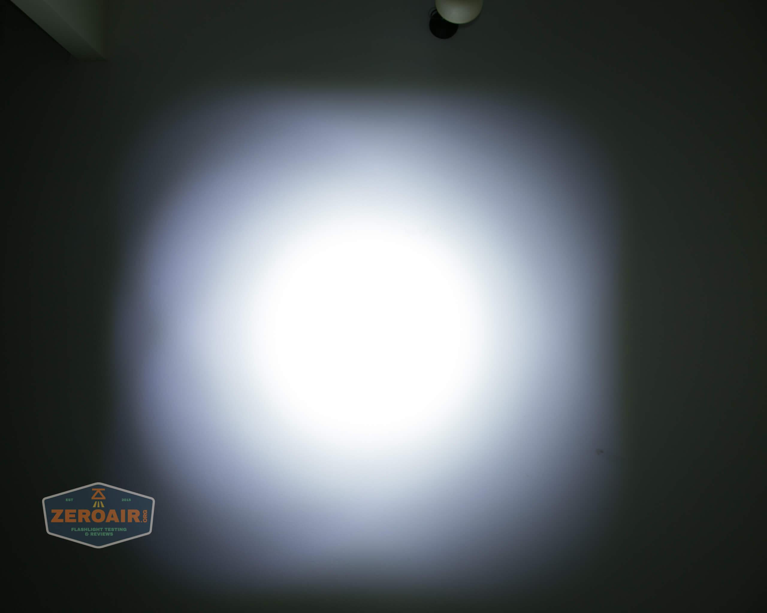 olight freyr rgb flashlight ceiling beamshots 3
