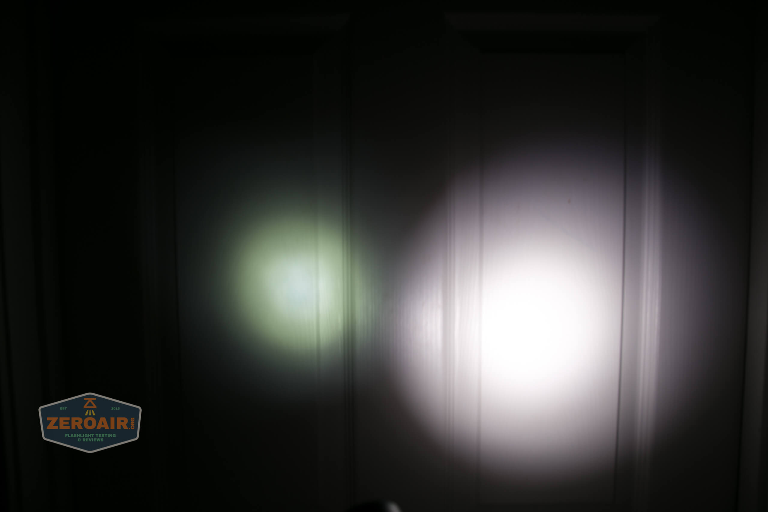 olight freyr rgb flashlight door beamshots 1