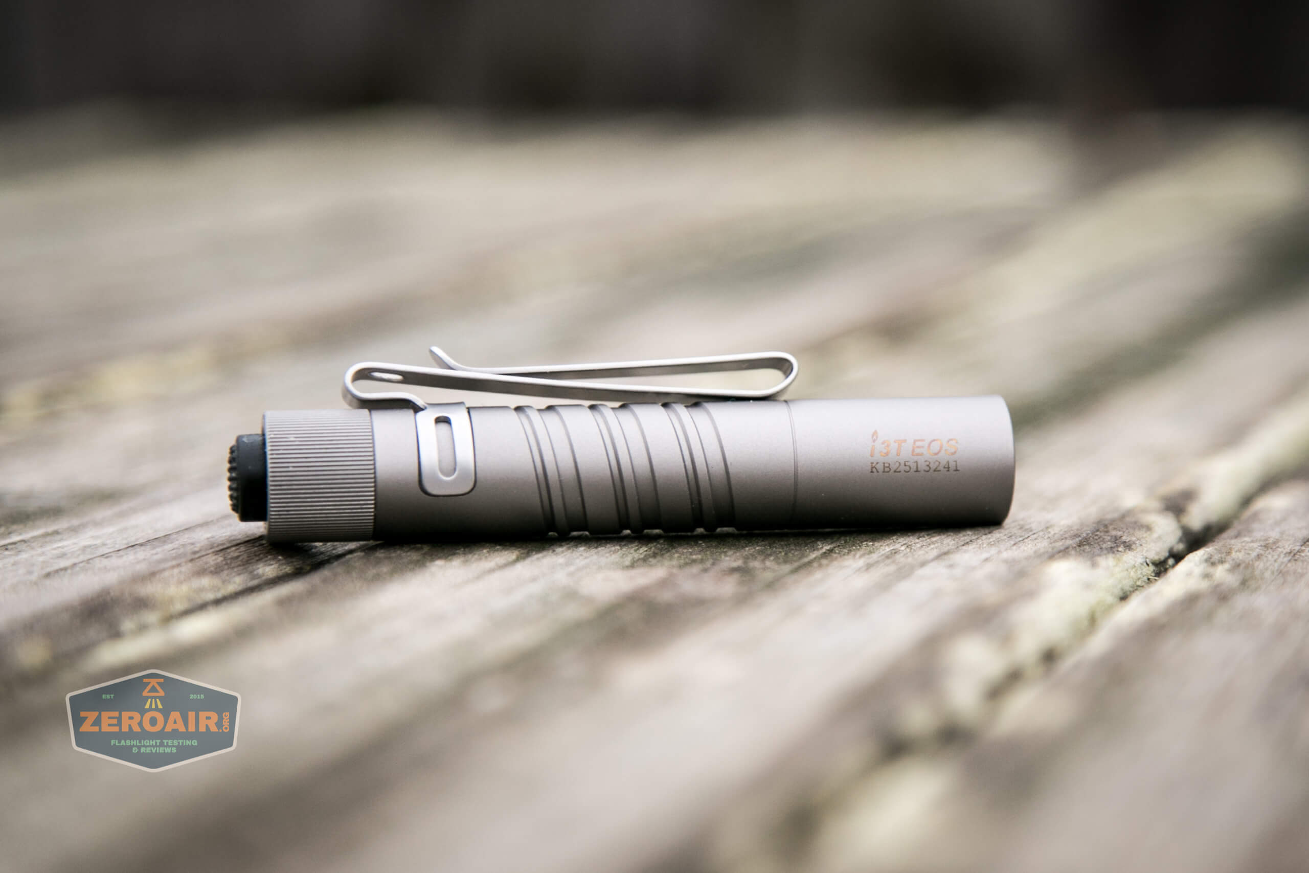 olight i3t eos titanium aaa flashlight feature photo
