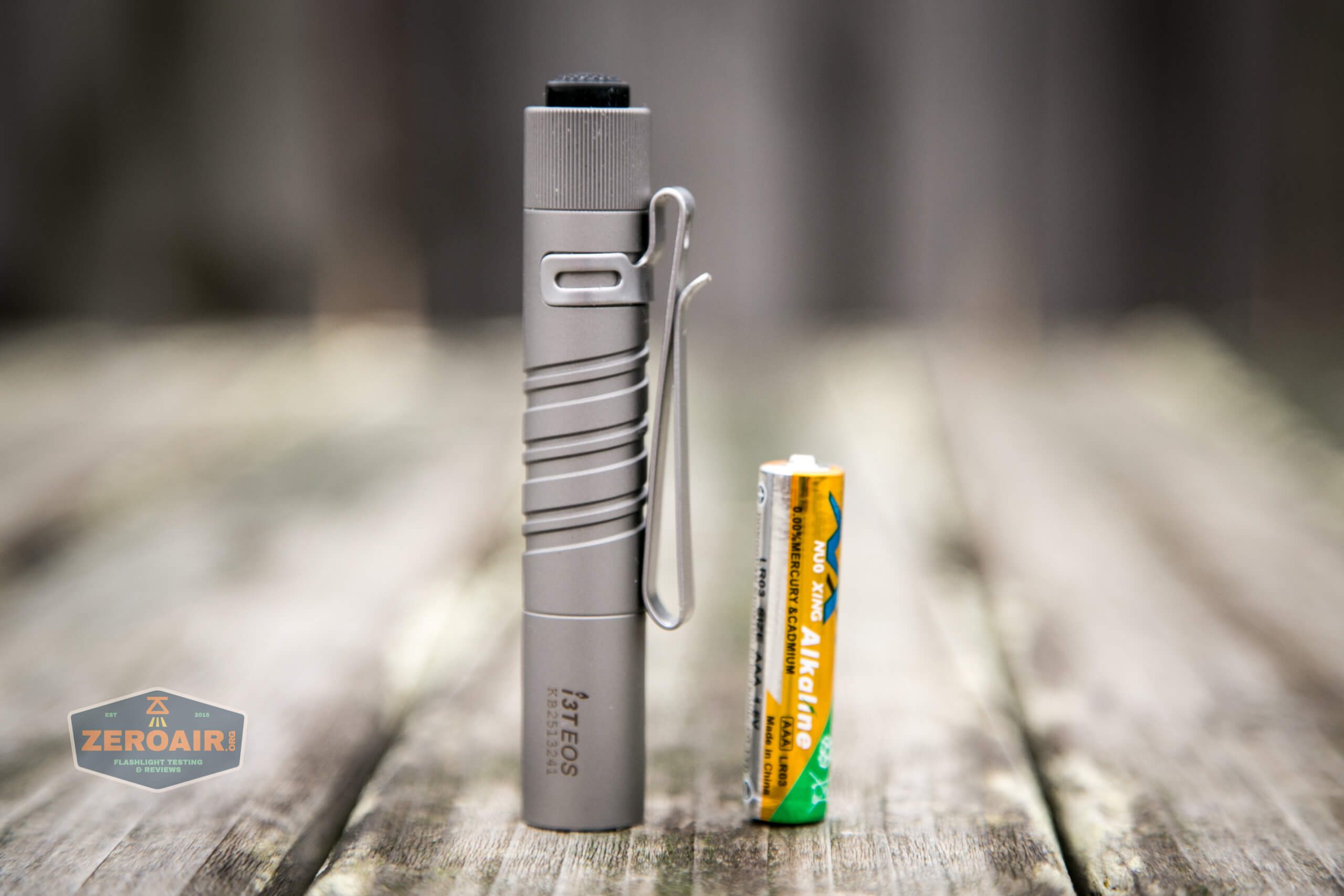 olight i3t eos titanium aaa flashlight included aaa