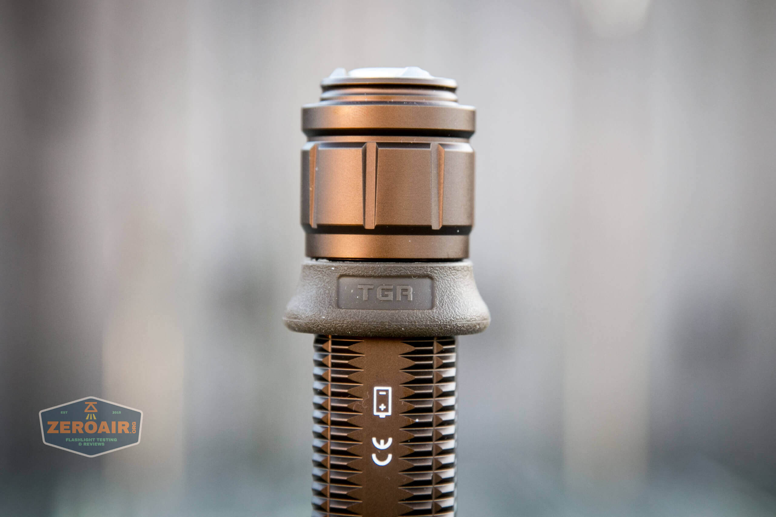 olight warrior x turbo desert tan flashlight grip ring