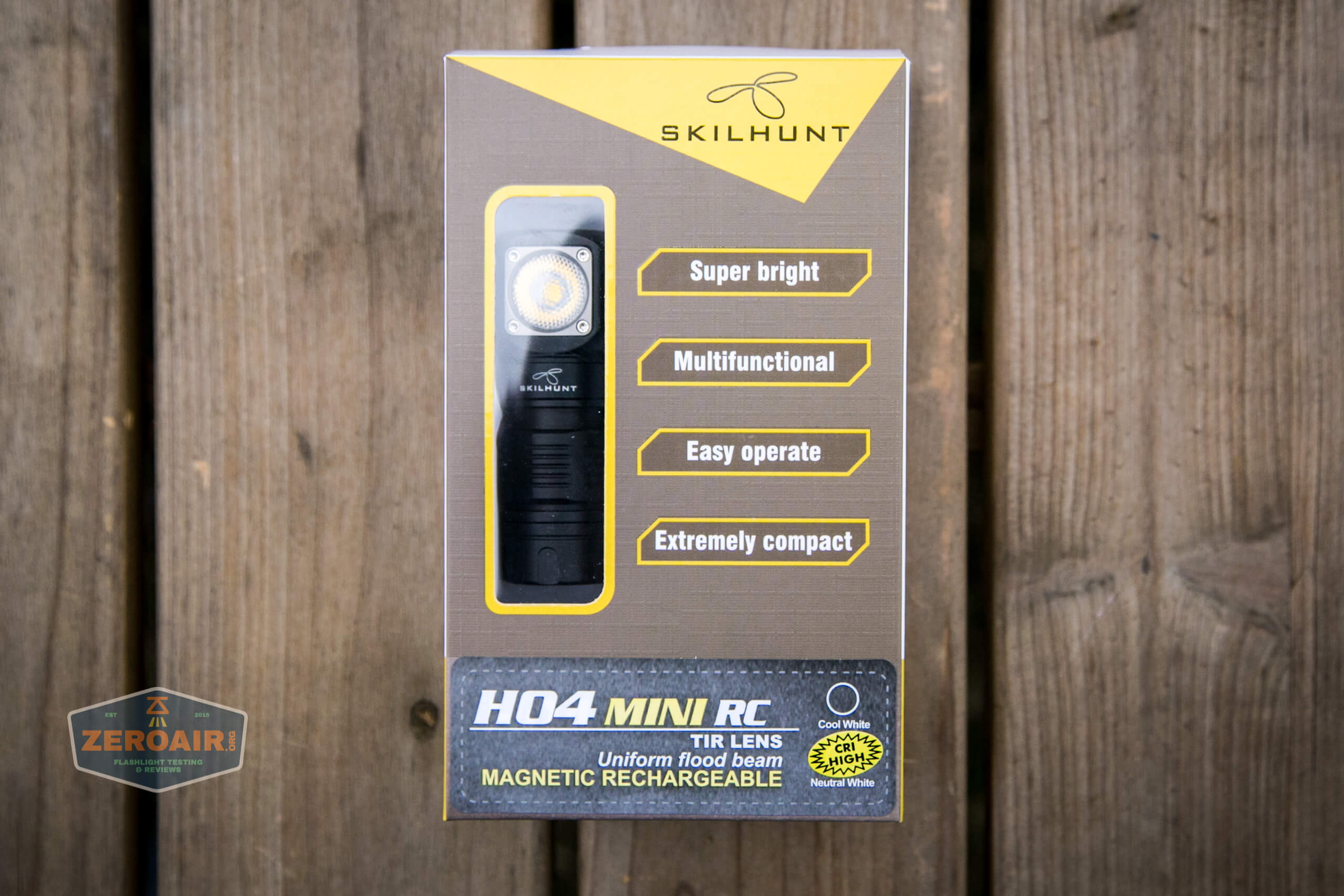 skilhunt h04 mini 18350 headlamp box