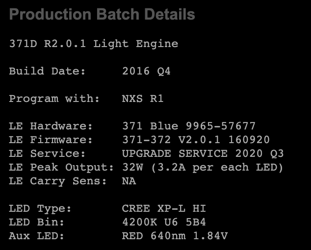 torchlab boss serial page