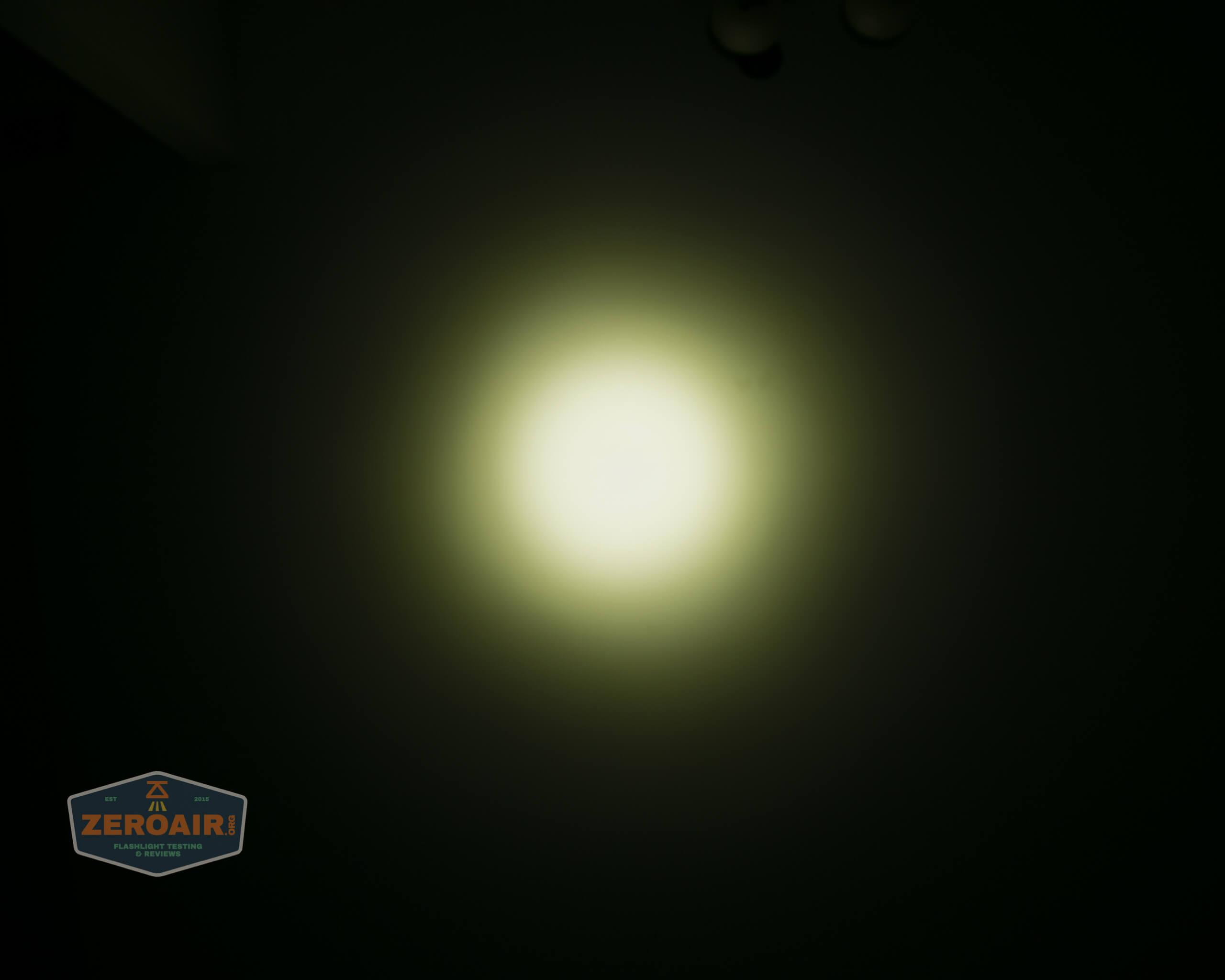 Acebeam L35 brightest tactical flashlight beamshots ceiling 3