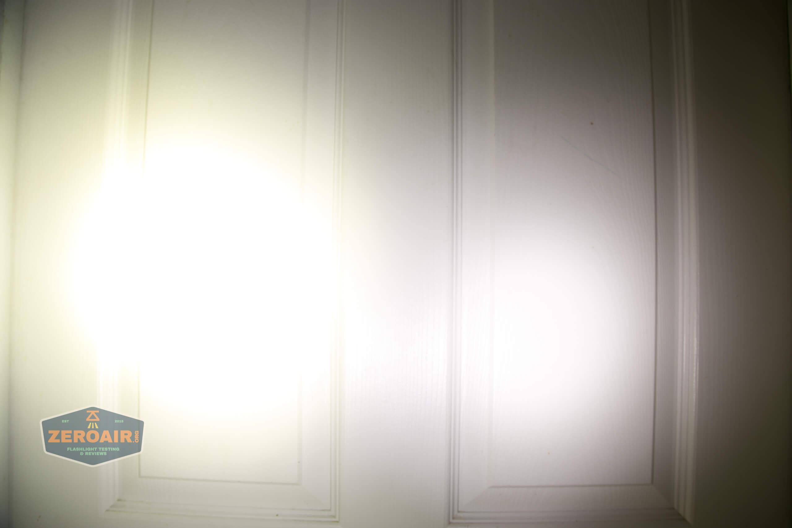 Acebeam L35 brightest tactical flashlight beamshots door 4