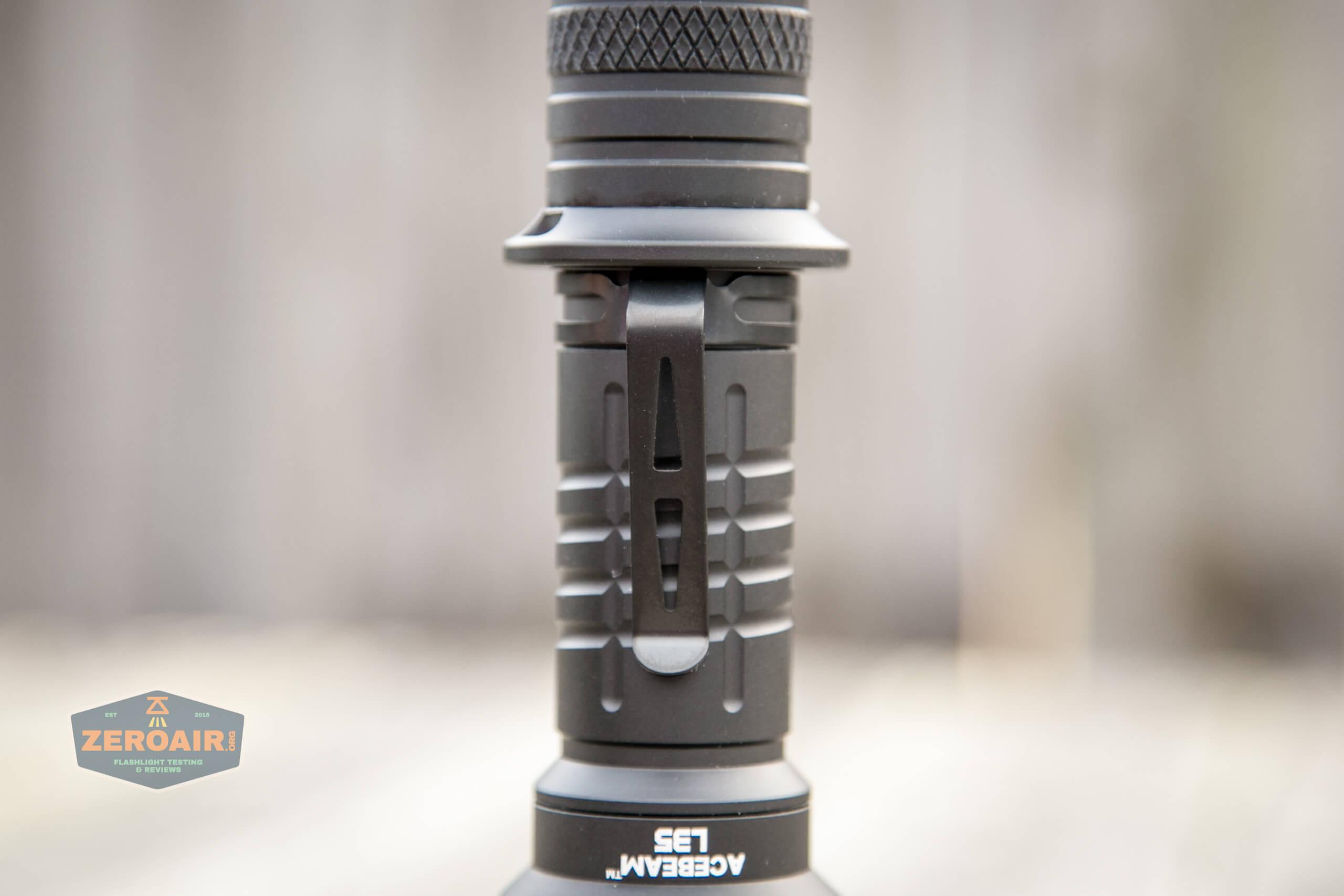 acebeam l35 flashlight pocket clip
